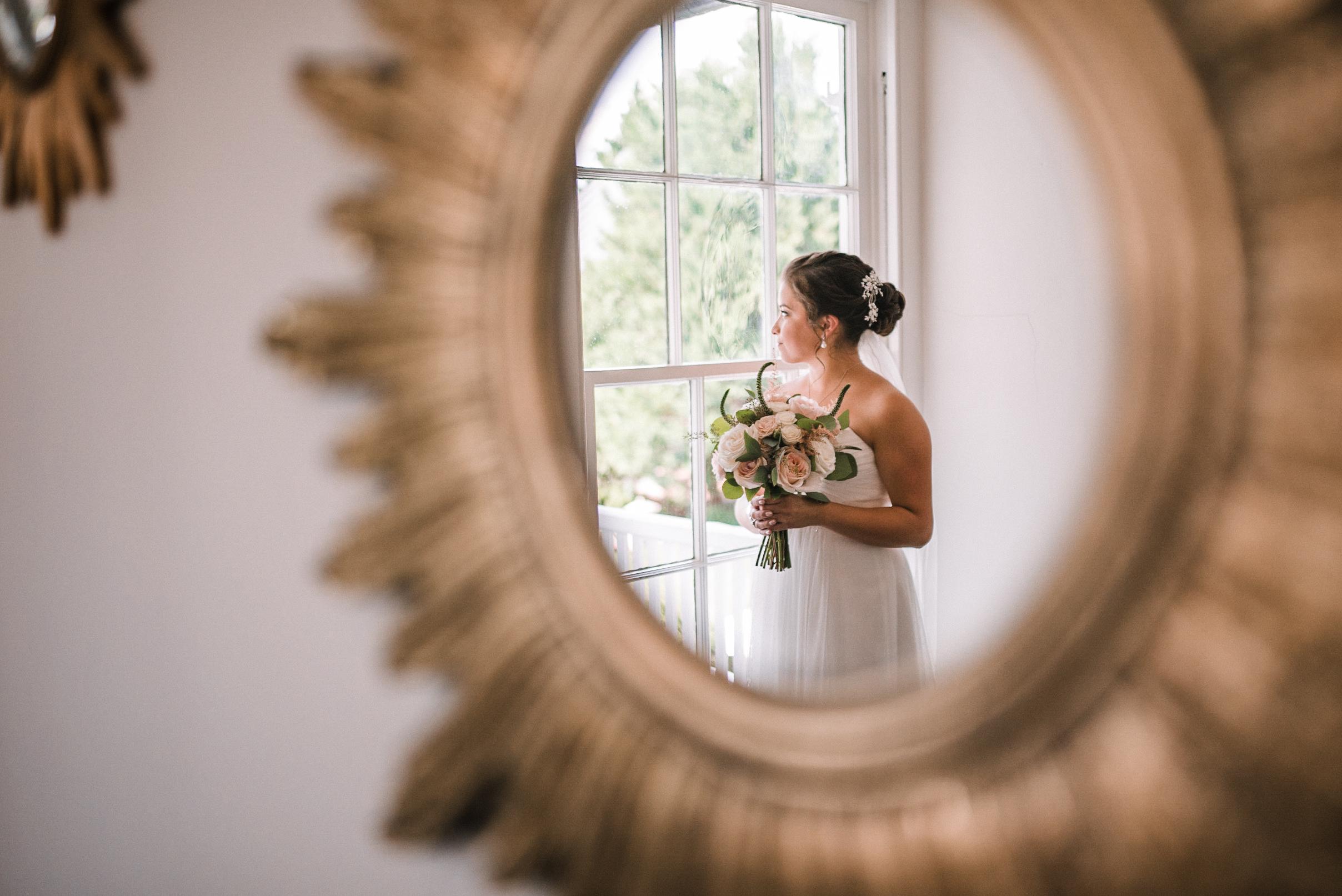 bridal portrait at Birkby House