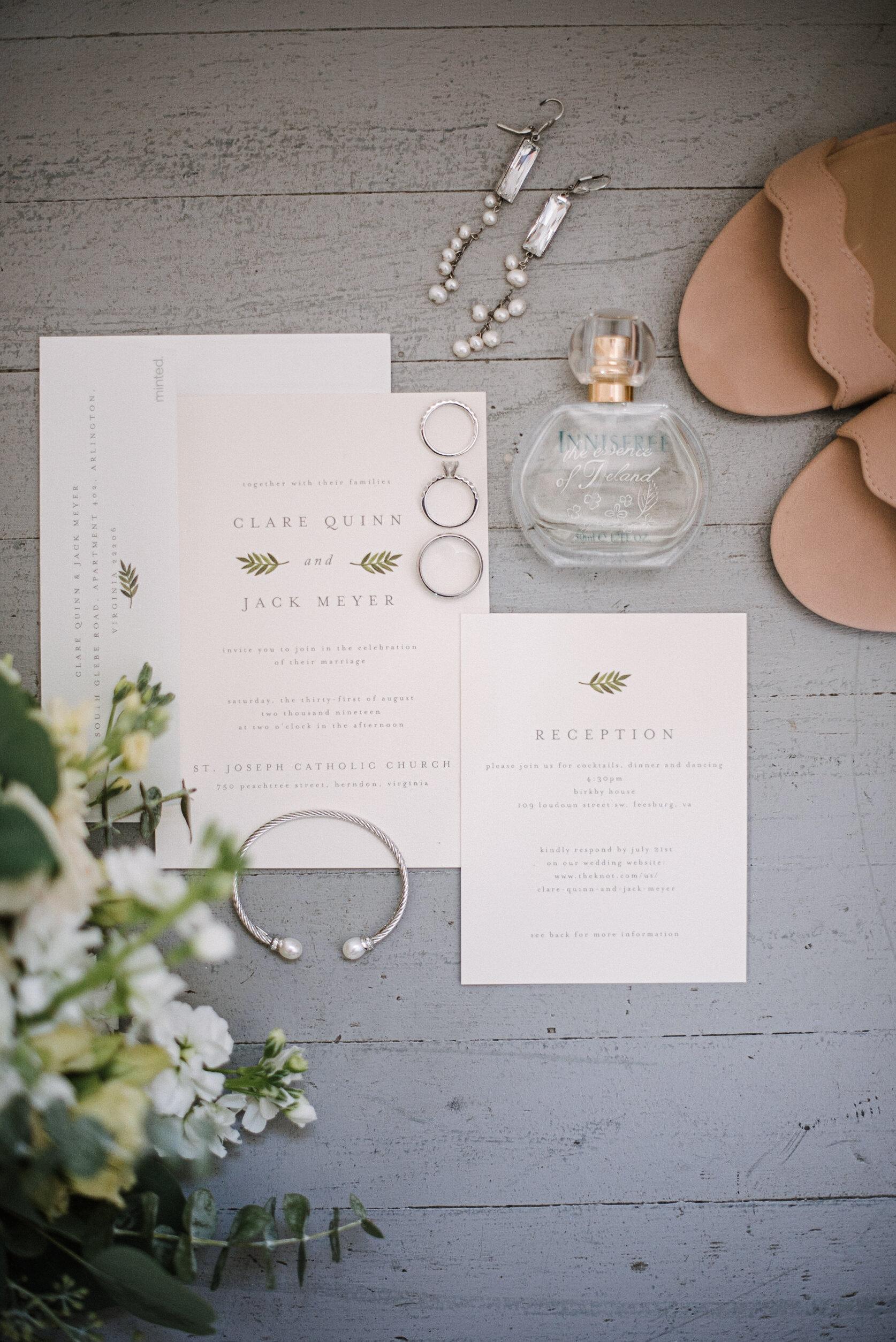 Bridal Details at Birkby House