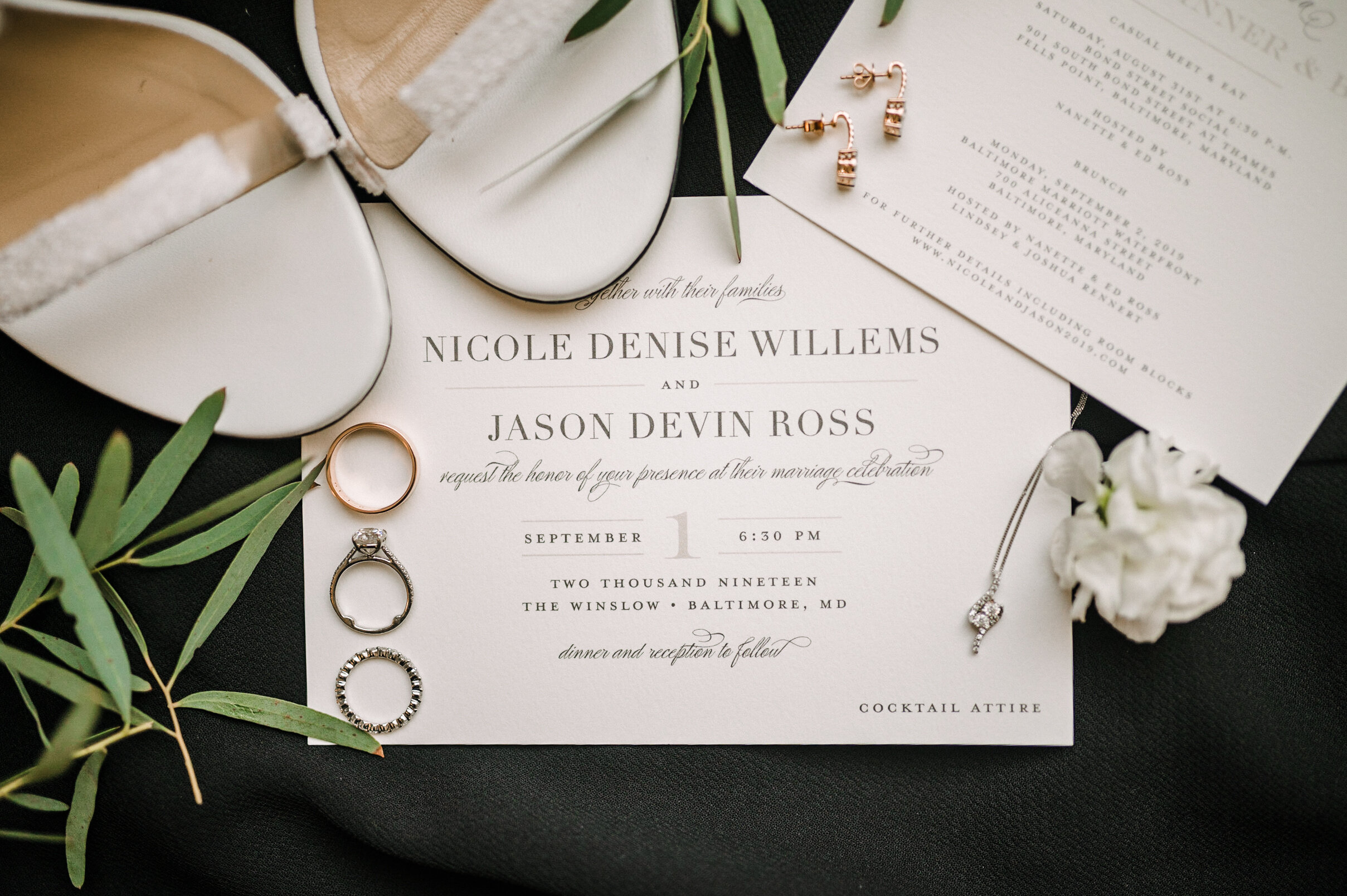 Bridal Details at The Winslow