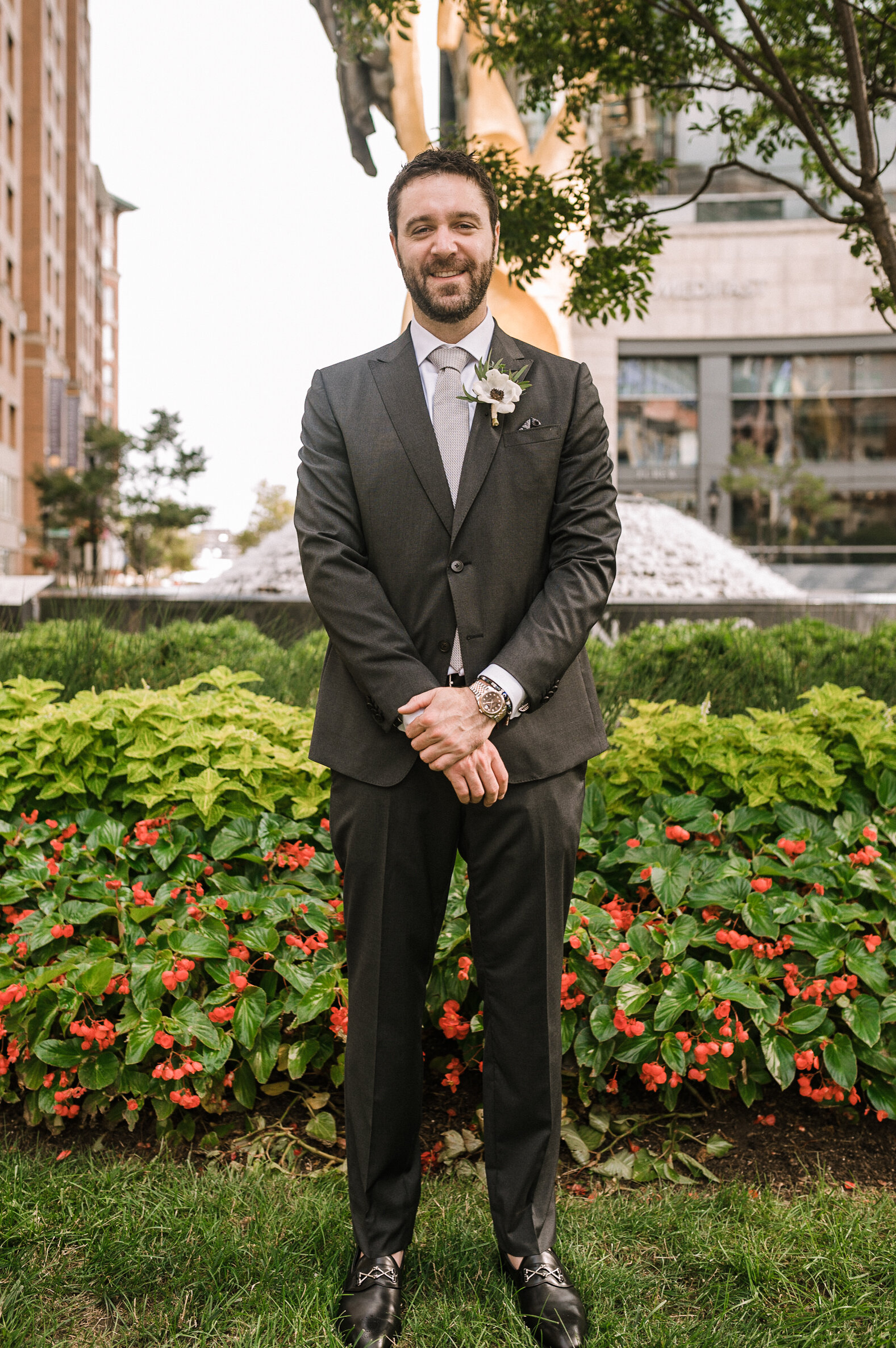 groom portrait at The Winslow