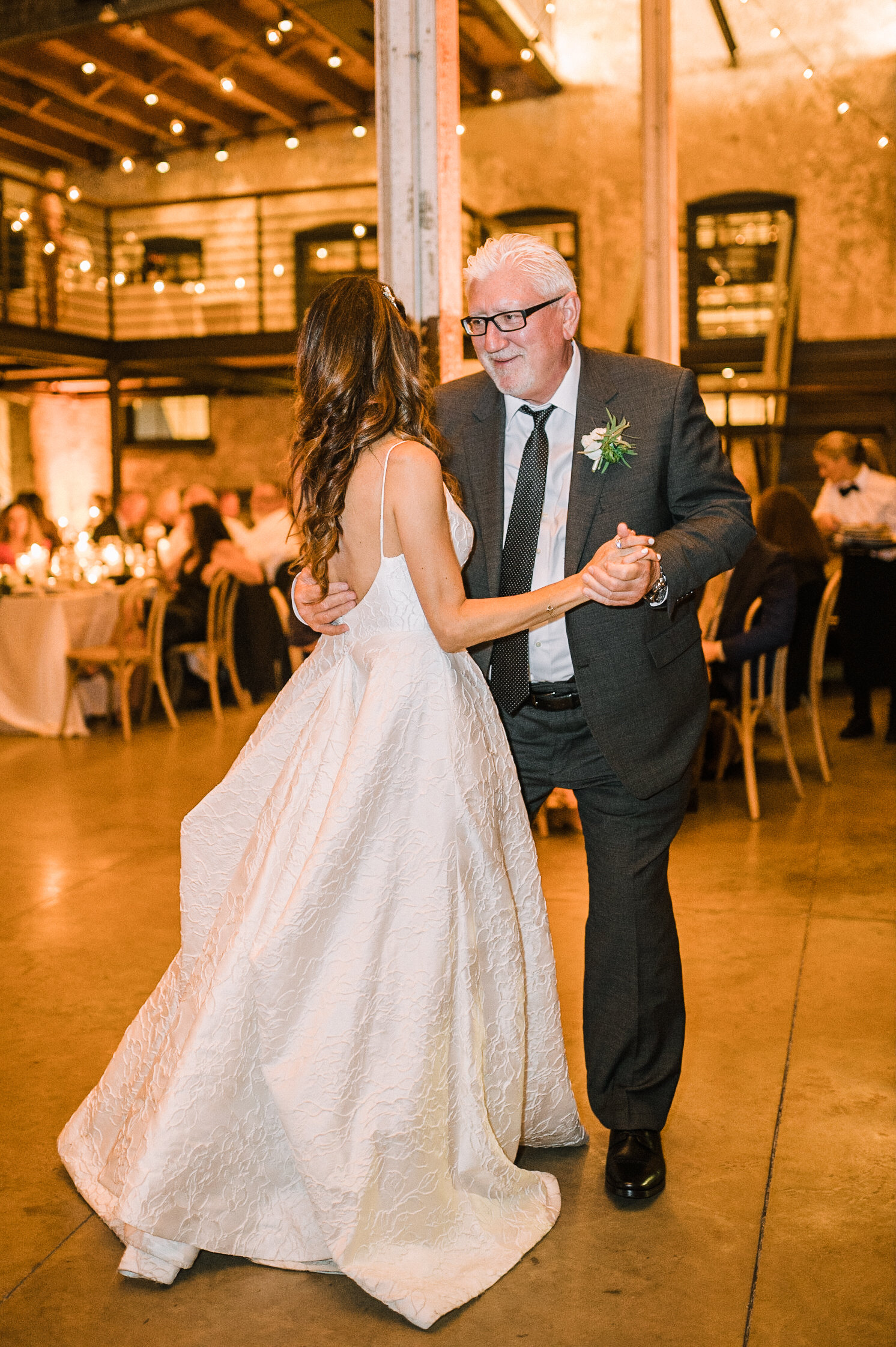 bride dancing with father at The Winslow