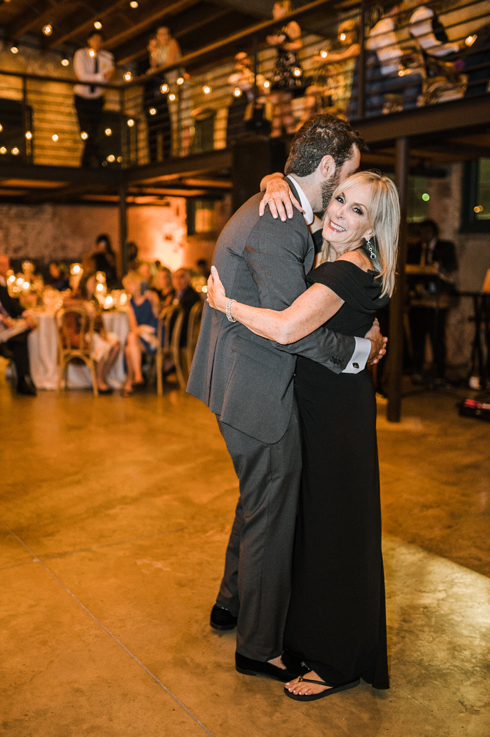 groom and mother first dance at The Winslow