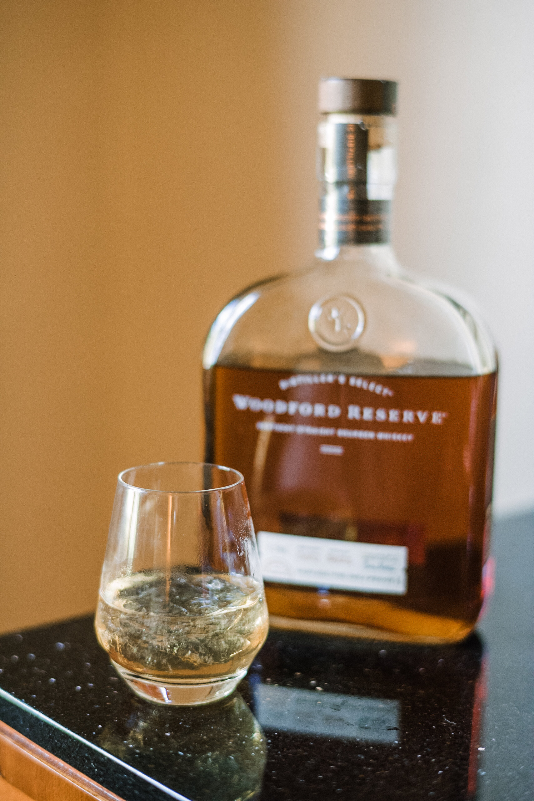 detail shot of whisky at Westfields Golf Club