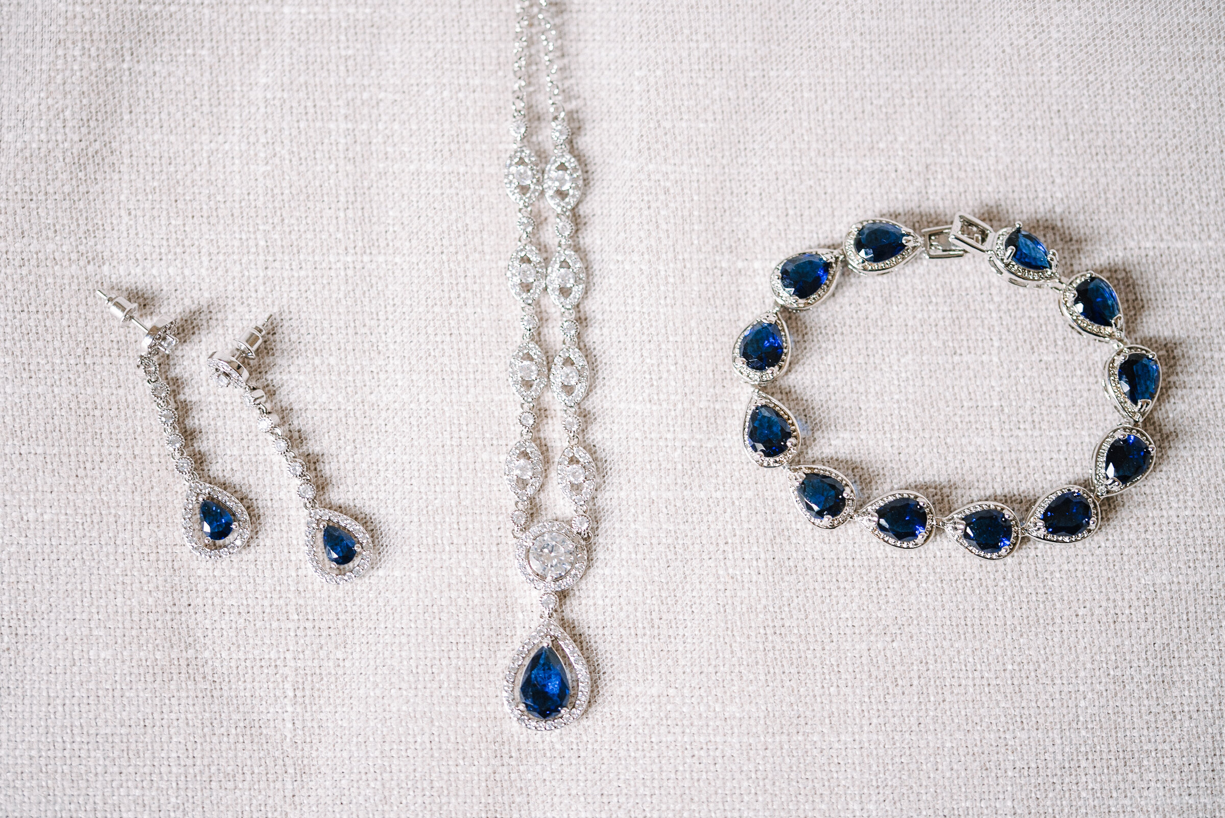 detail shot of wedding jewelery at Rust Manor House