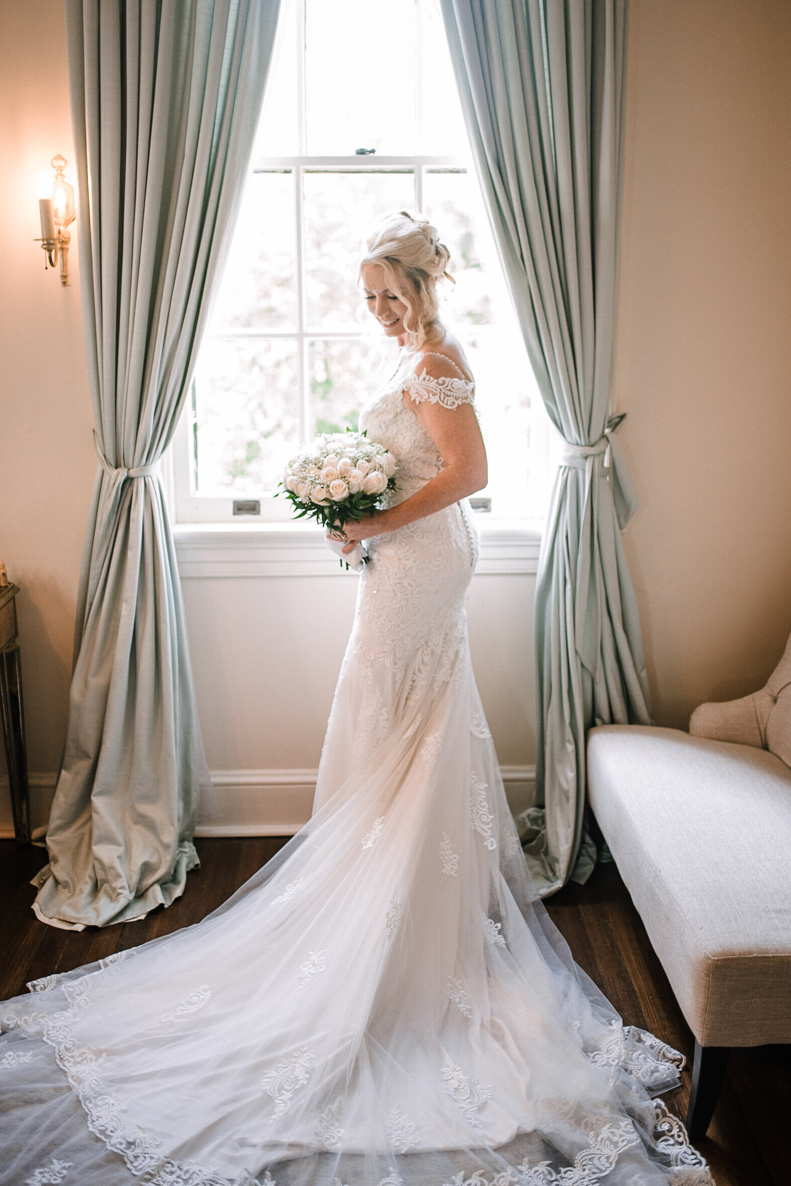 bridal portrait at Rust Manor House