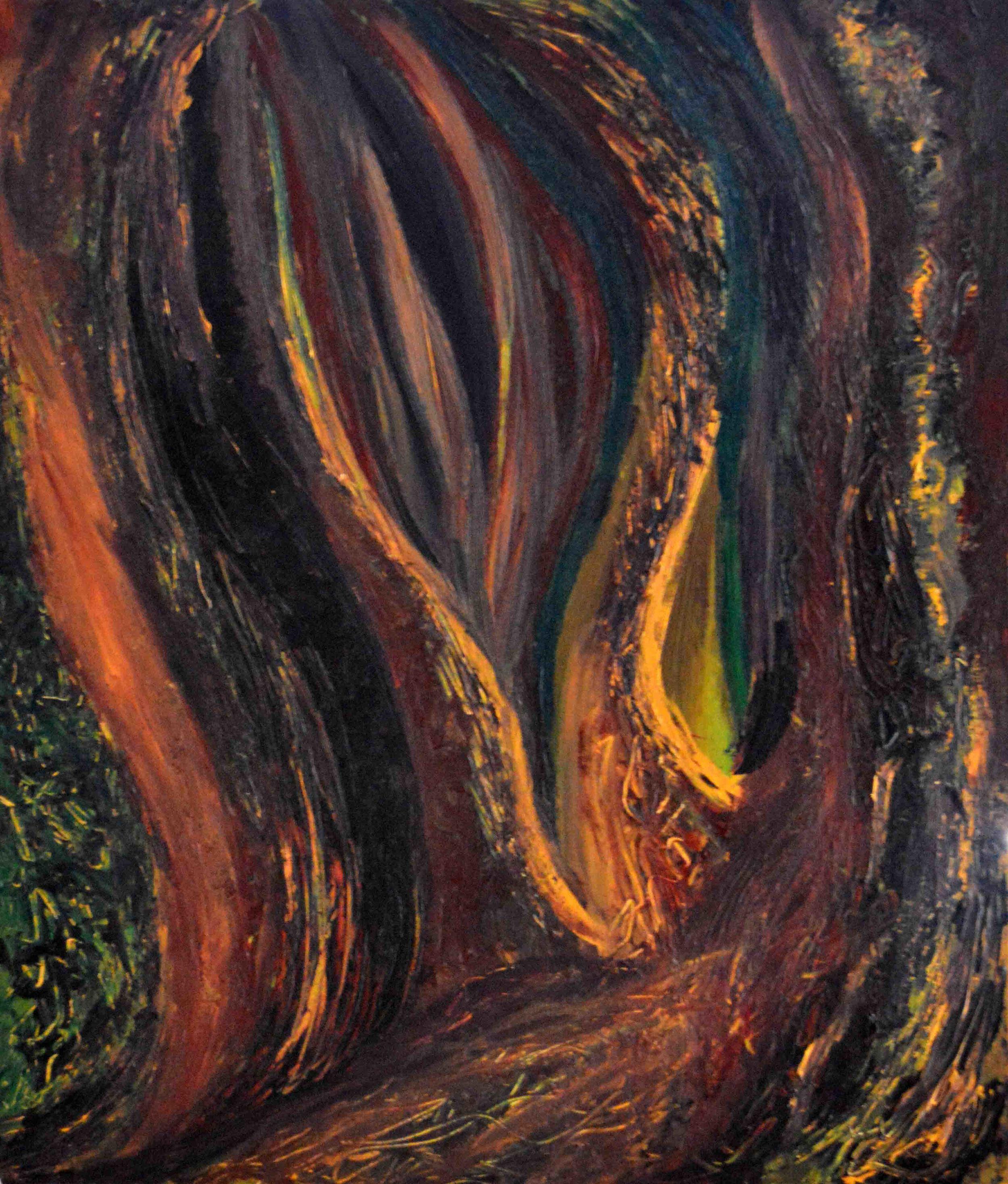 A Radiant Heart Light     , 2007, Acrylic, 24.75 x 29.0625 in