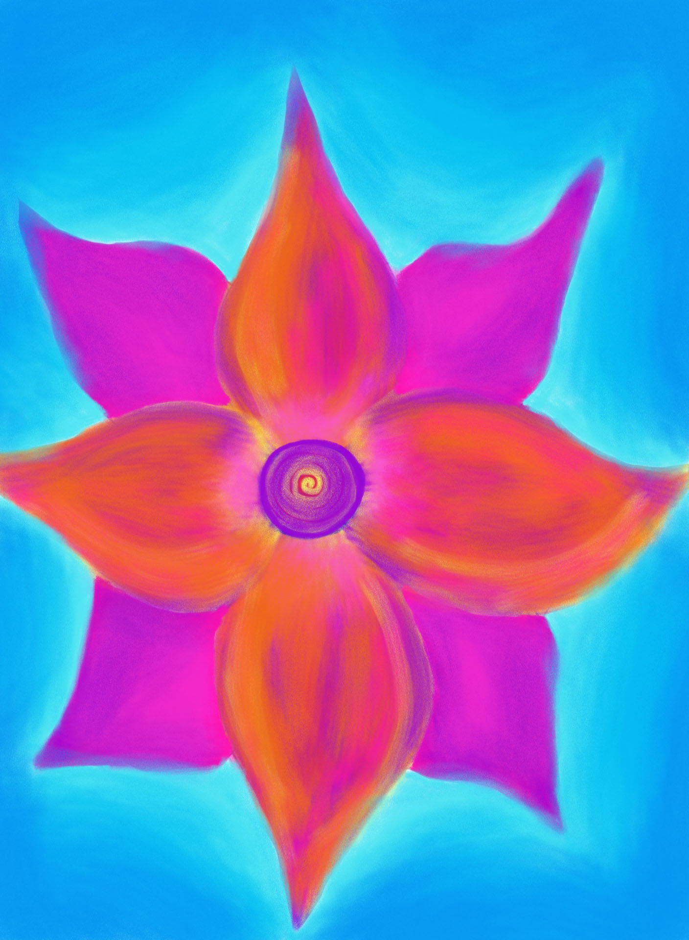 Spiral Flower , 2012, Digital Art