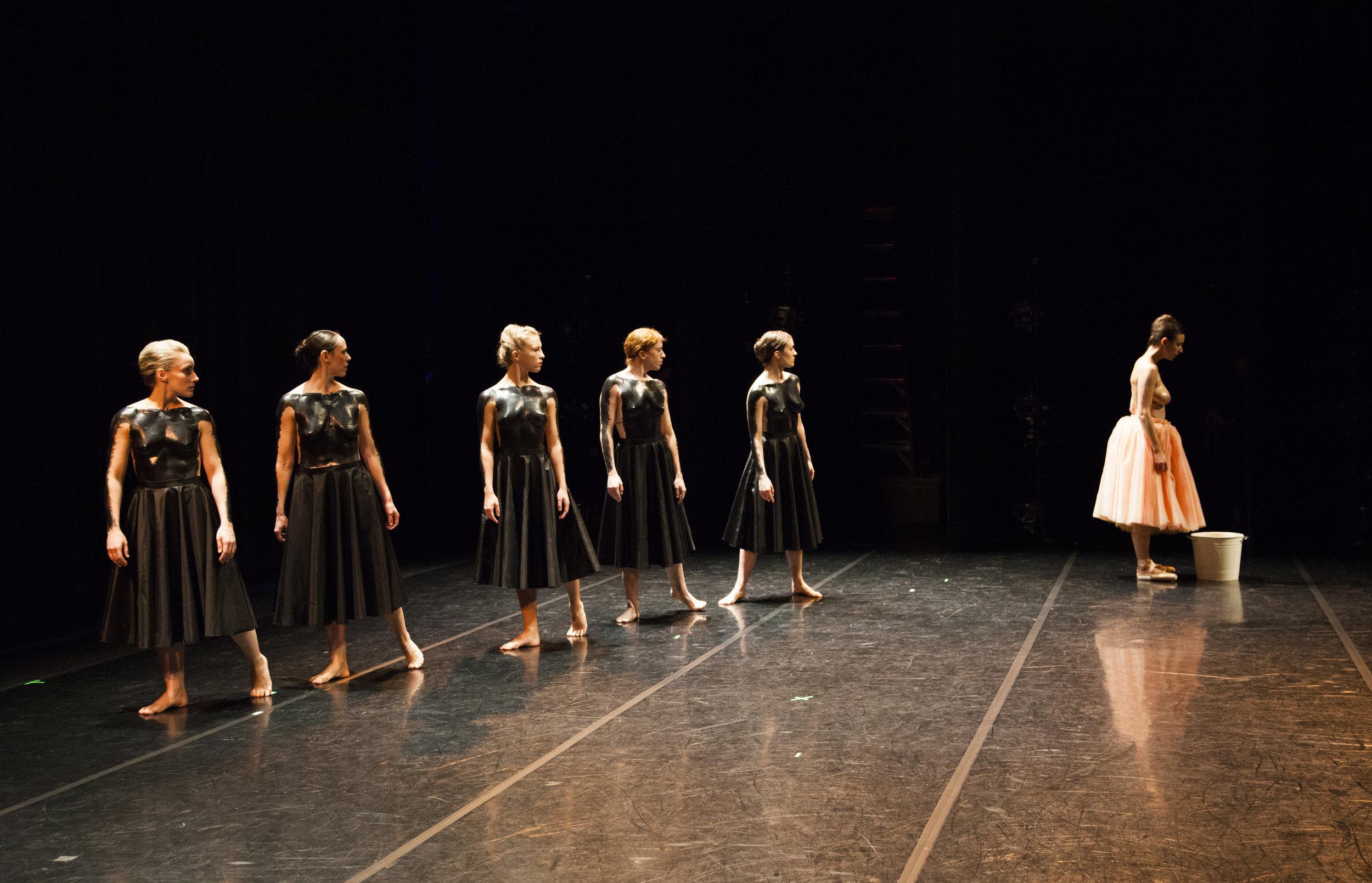 Alexandra Bodnarchuk, Marcella Day, Andrea Kozai, Patty Petronello, Alexandra Salerno, Nicole Truzzi © Hannah Altman 2016
