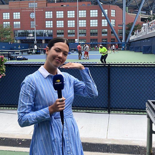 Hi Serena!!! Let's go day 2 @usopen #usopennow