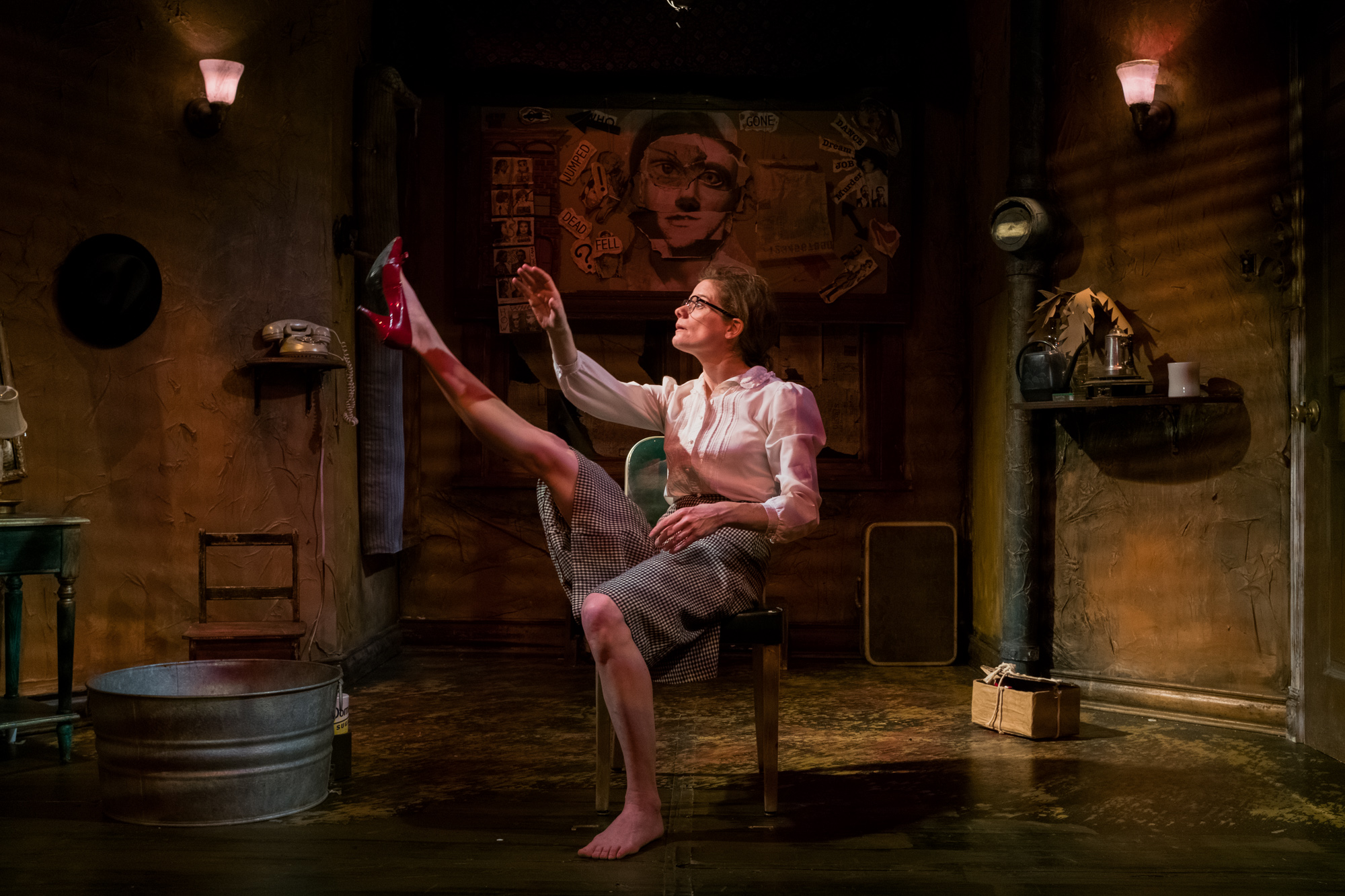 Kimberly Richardson in The Red Shoes. Photo by Mark Vancleave.