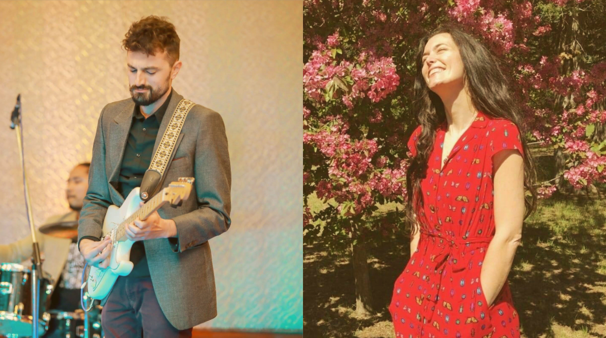 June 14: Eric Carranza and Kate Dikareva - Versatile composer-musician-songwriter Eric Carranza pairs his guitar with Kate Dikareva's violin; together they conjure extraordinary moods that evoke folk, world-beat, and classical genres.