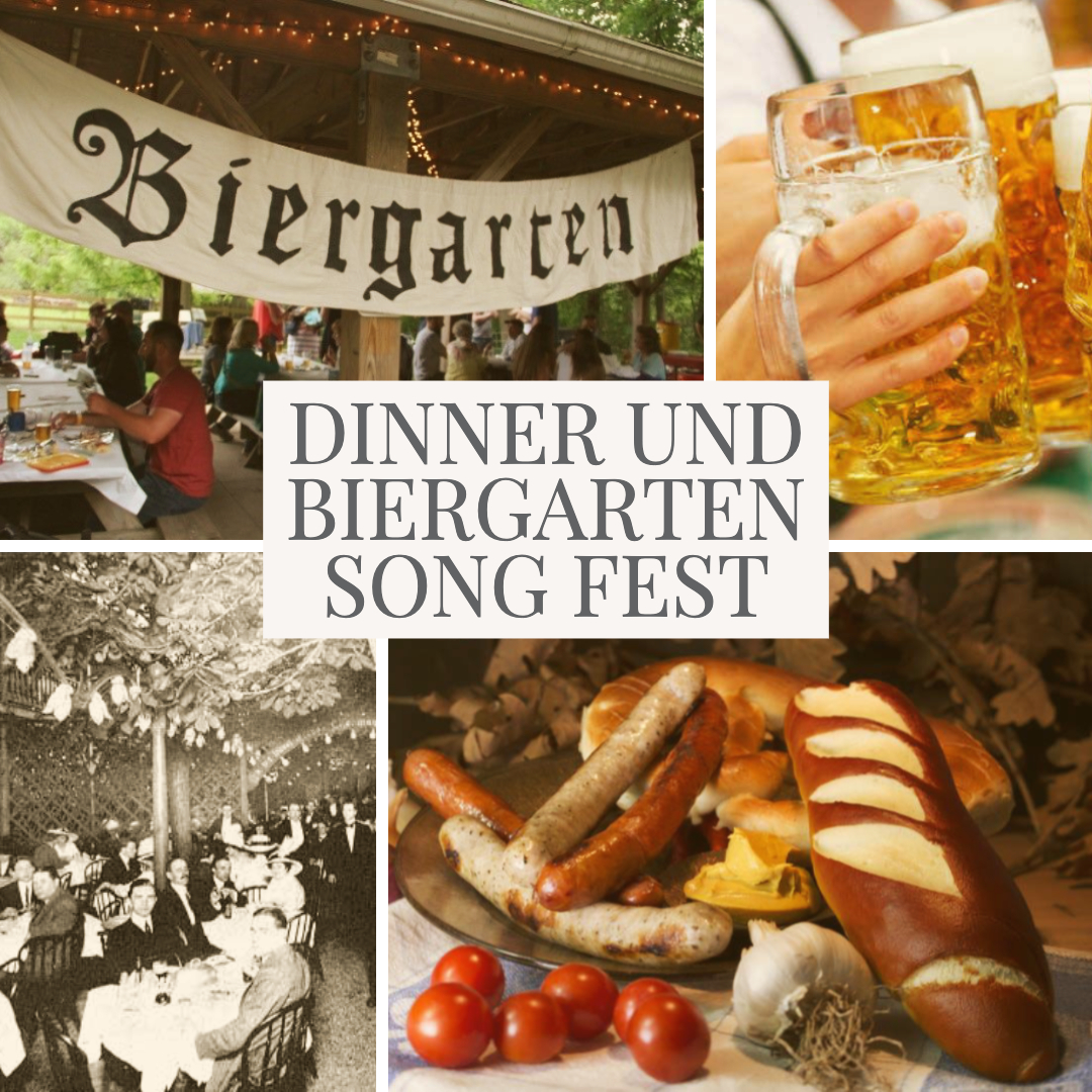 SPECIAL EVENT! Dinner und BierGarten Song Fest - August 10, 5:30pm — $65Includes drinks, dinner, a performance of WHEN THE SHARK BITES, and a sing-along.Please join us for a festive pre-show picnic in Open Eye's beautiful Biergarten (Beer Garden) featuring a delicious summer buffet, a signature cocktail, and the most summery German drink of all — the Radler Biermichgetrank — a sparkling fusion of beer and lemonade! Enjoy WHEN THE SHARK BITES inside our cool theatre, and then head back to the garden for a Song Fest sing-along with the cast under the stars! Bring that special someone for an evening of food and drink, memorable music, singing, laughter, comradery, and some healthy kerfuffle, if we're lucky!y Tic