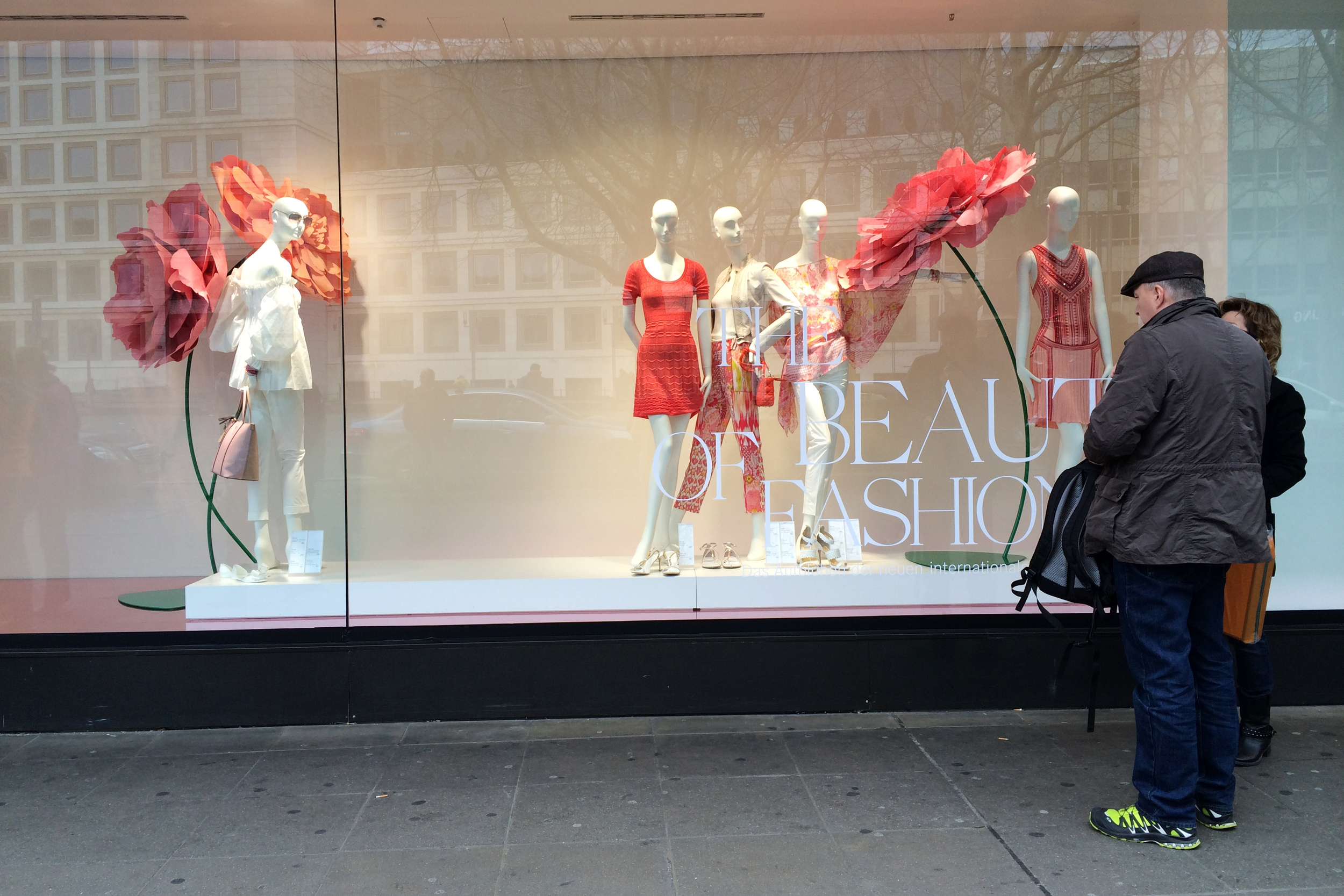 This window display and that man's shoes. Love it!