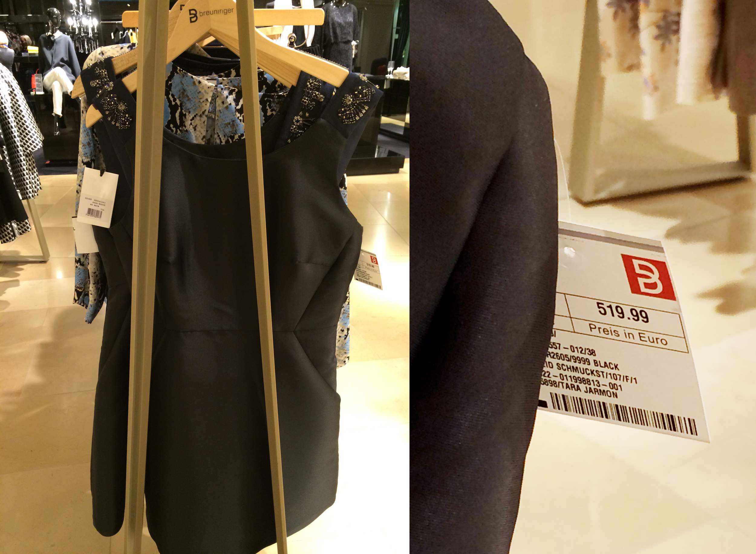 Inside Dolce & Gabbana: this dress looks kind of nice... just not €519.99 nice :)