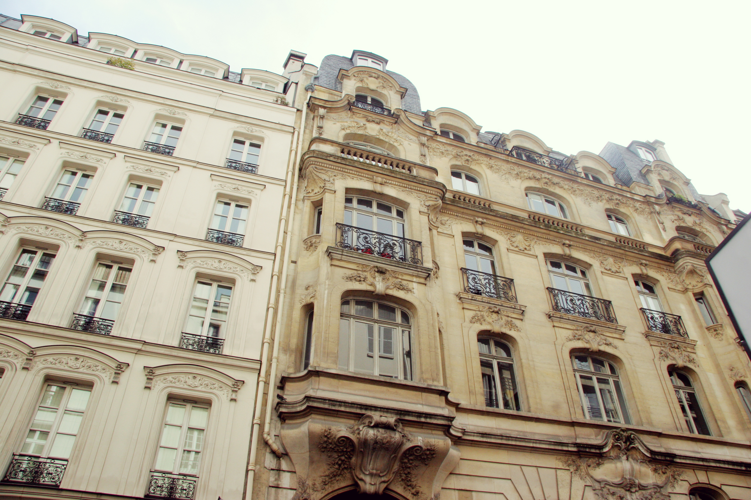 These perfectly Parisian apartments.