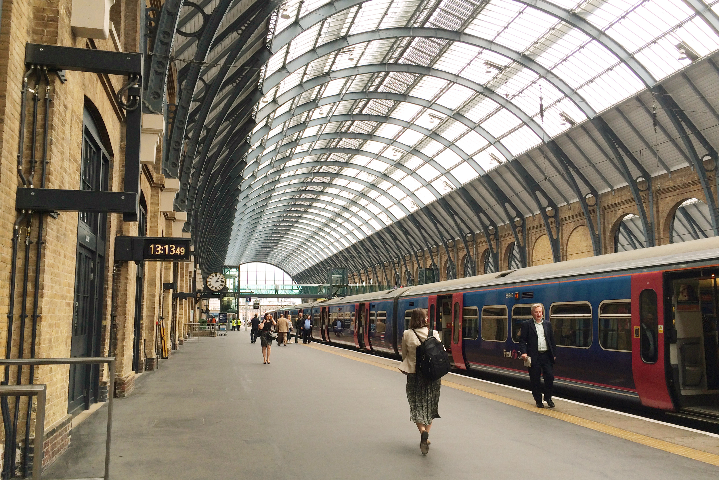 King's Cross Station, where you catch your train to Hogwarts :)