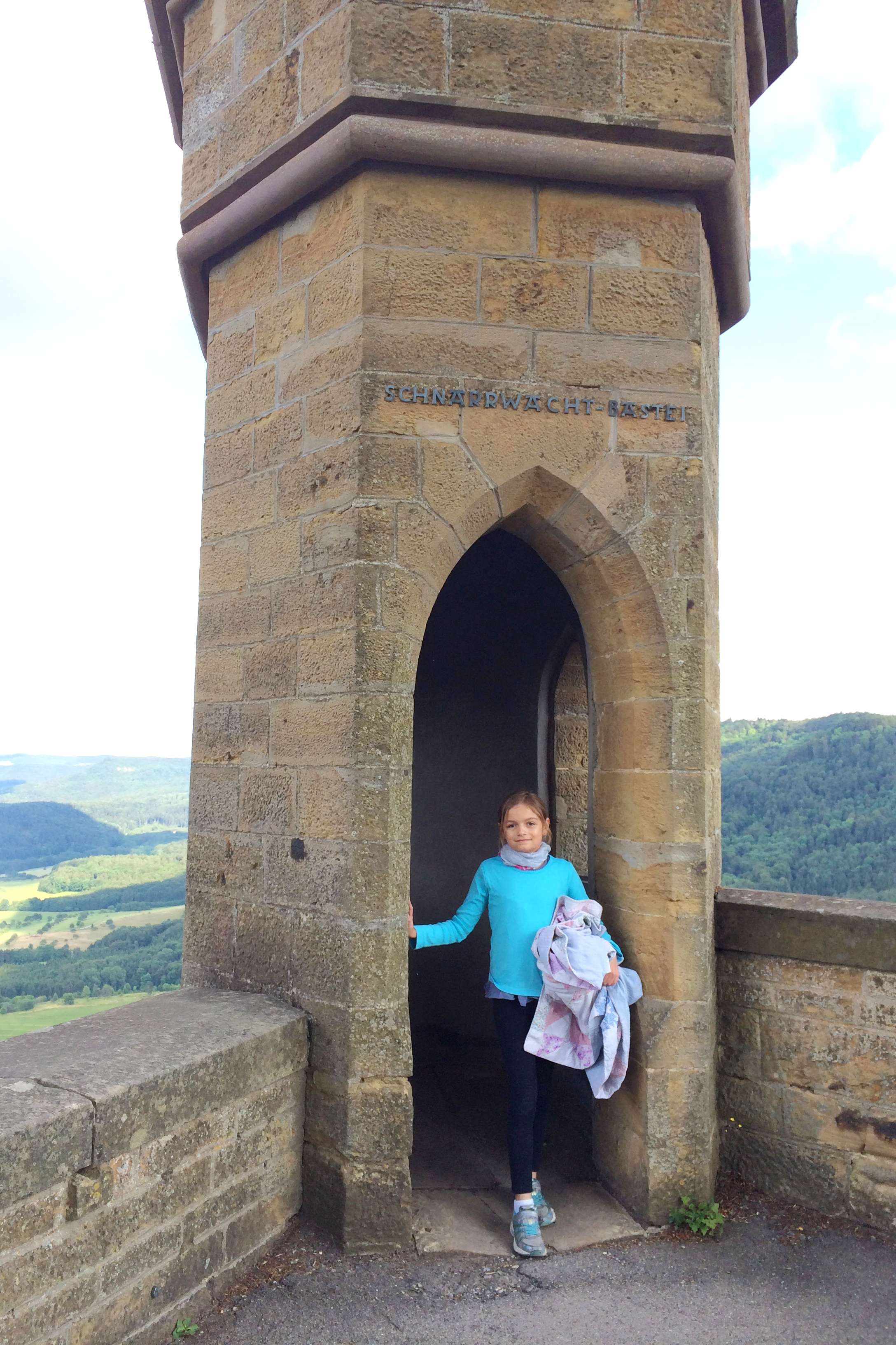 Princess Ilse at the castle.