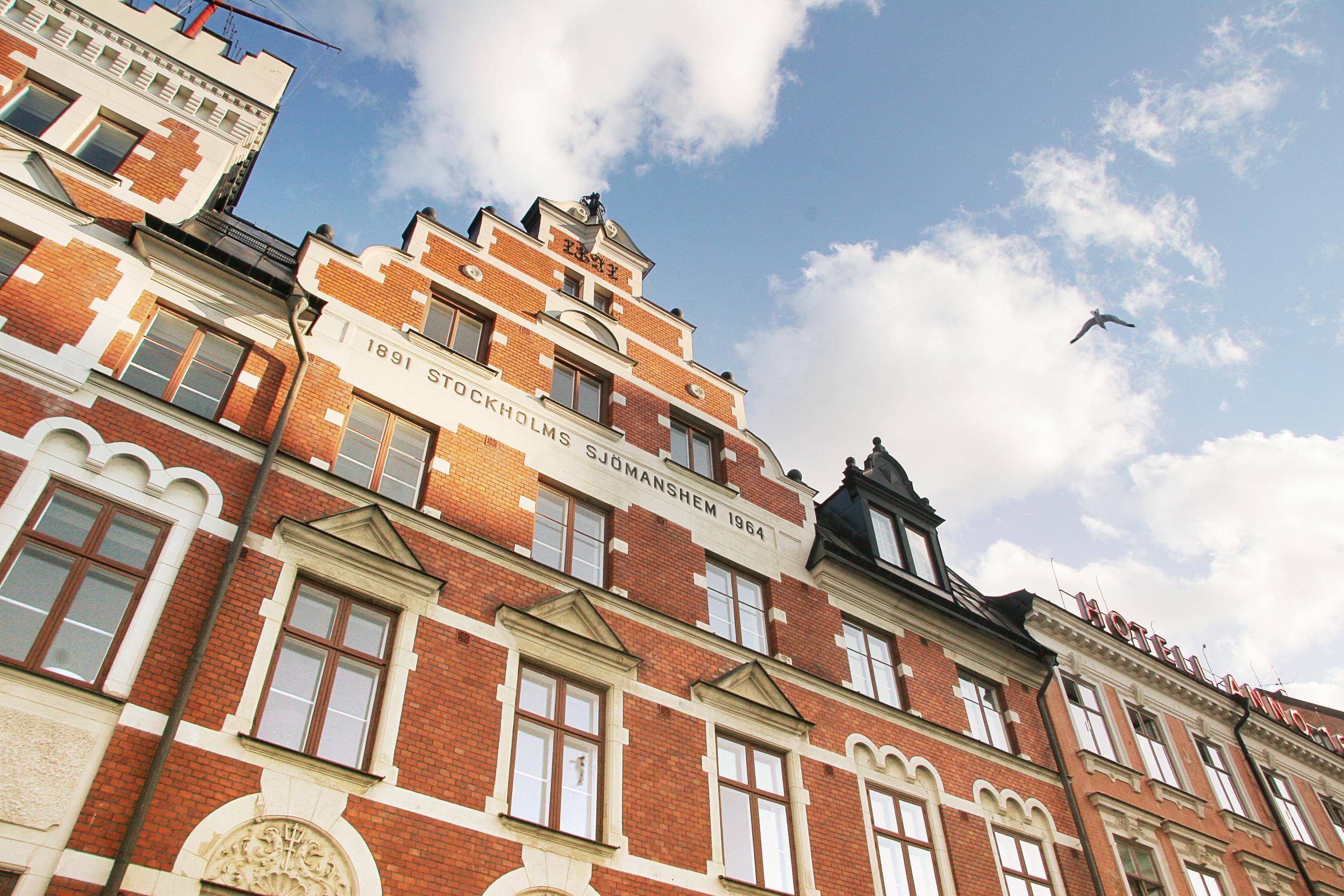 10) Fantastic red brick architecture