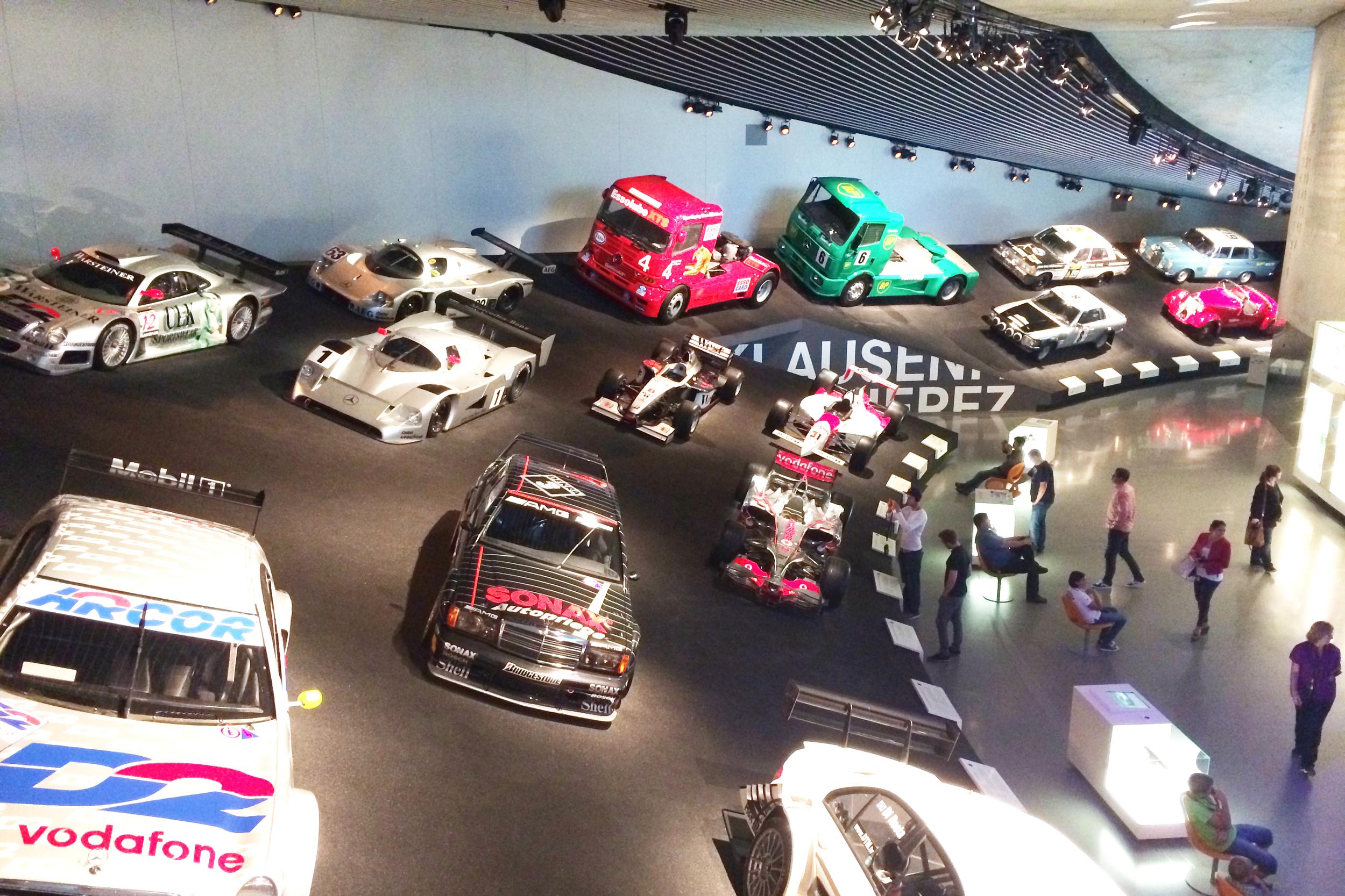 Race cars... and a few race trucks, too!