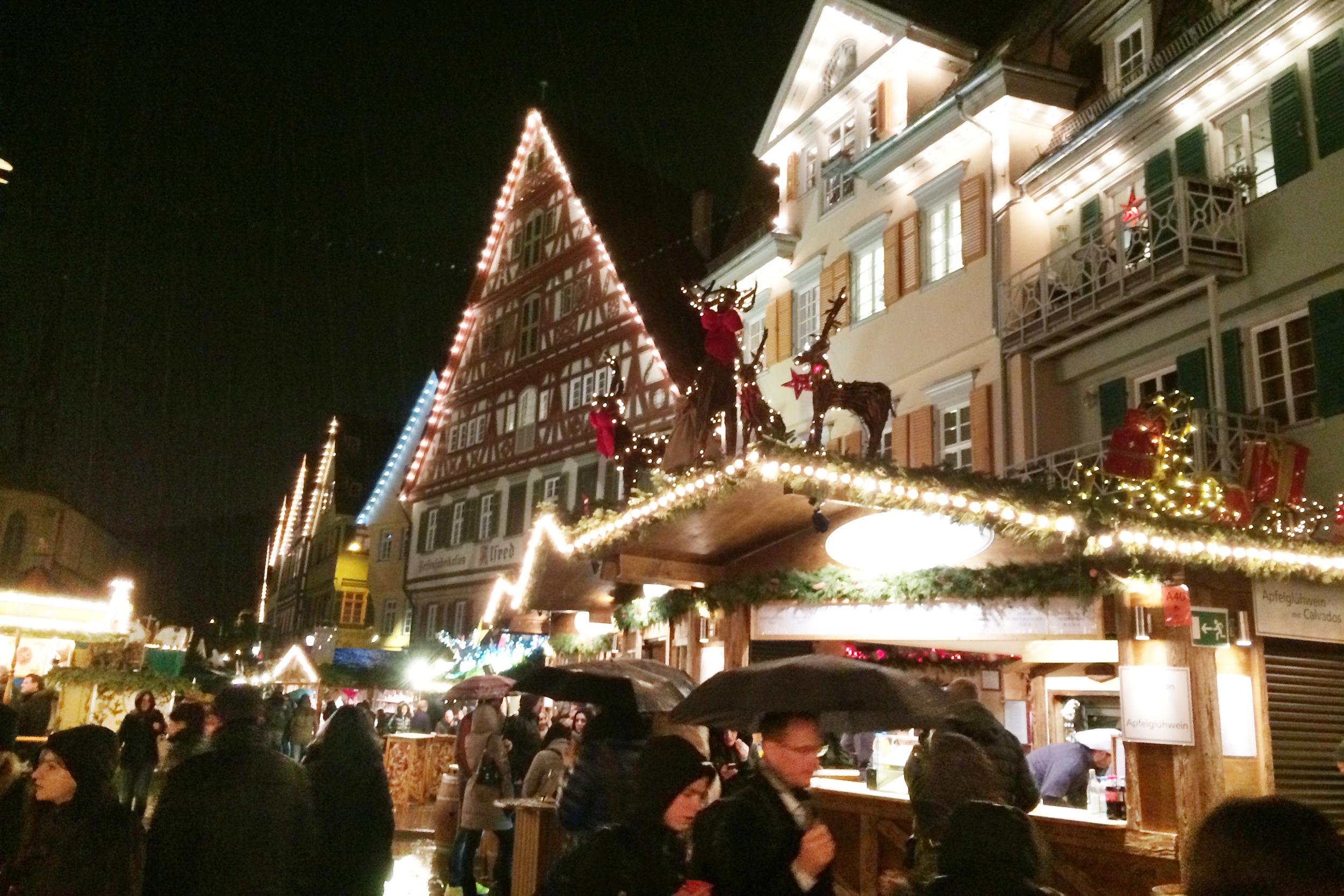 A lovely visit to Esslingen in the rain!