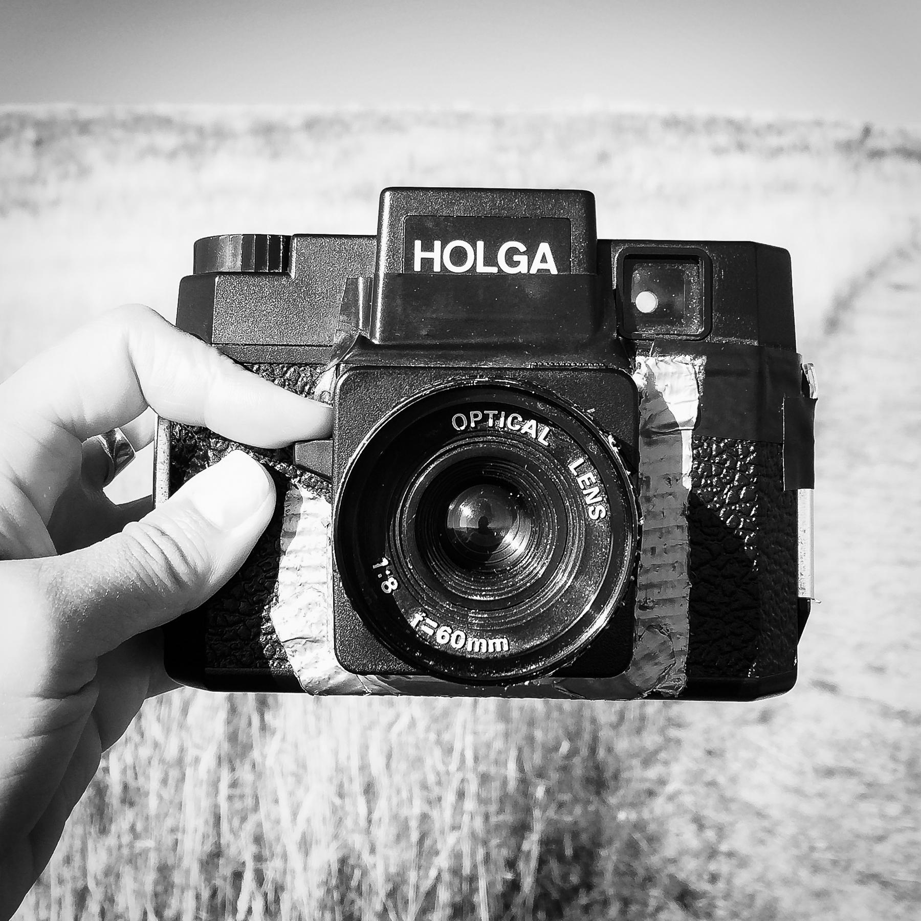 Yep, this is a Holga camera.
