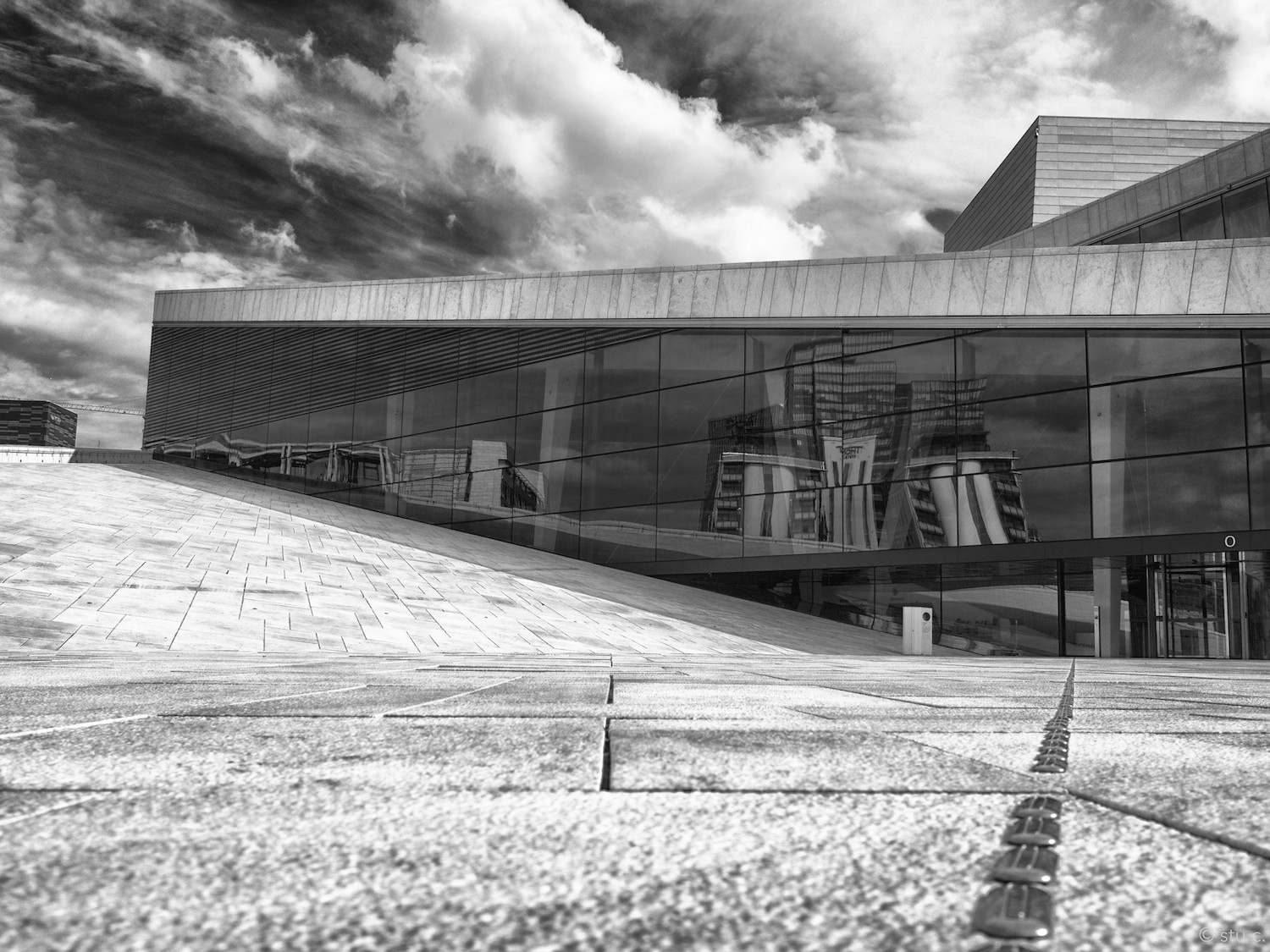 Dramatic lines & angles lead the eye on a visual smorgasbord that's a special feast for photographers