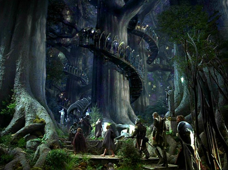Lothlorien: Home of the most pretentious Vegans of all.