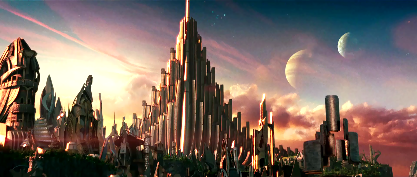In the future, Vikings from space will build their castles and living quarters out of enormous pipe-organs.