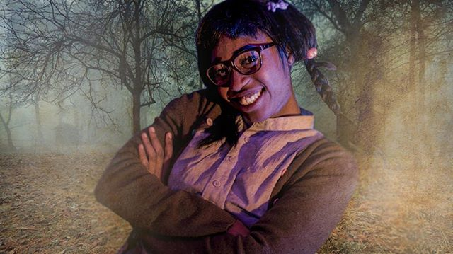Cheryl Williams: Reader, Baker, soon to be pun-slinging Demon. #evildeadthemusical #horror #evildead #evildead2 #cherylwilliams