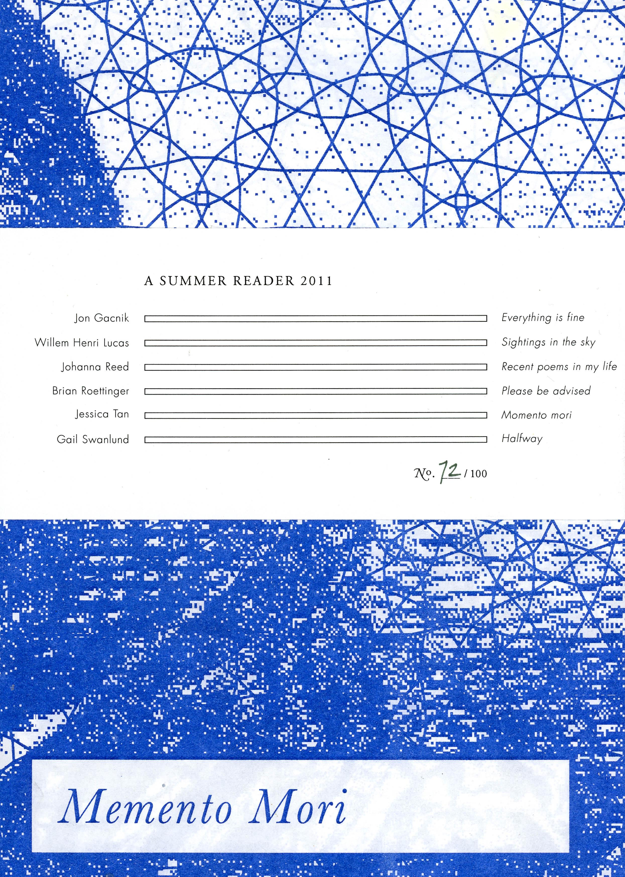 Summer 11, Issue 1
