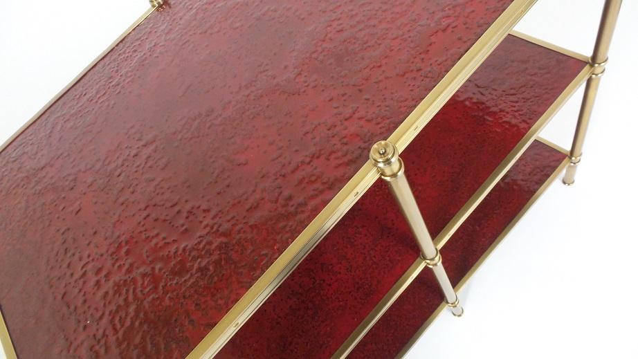 Crimson Molten Gypsum