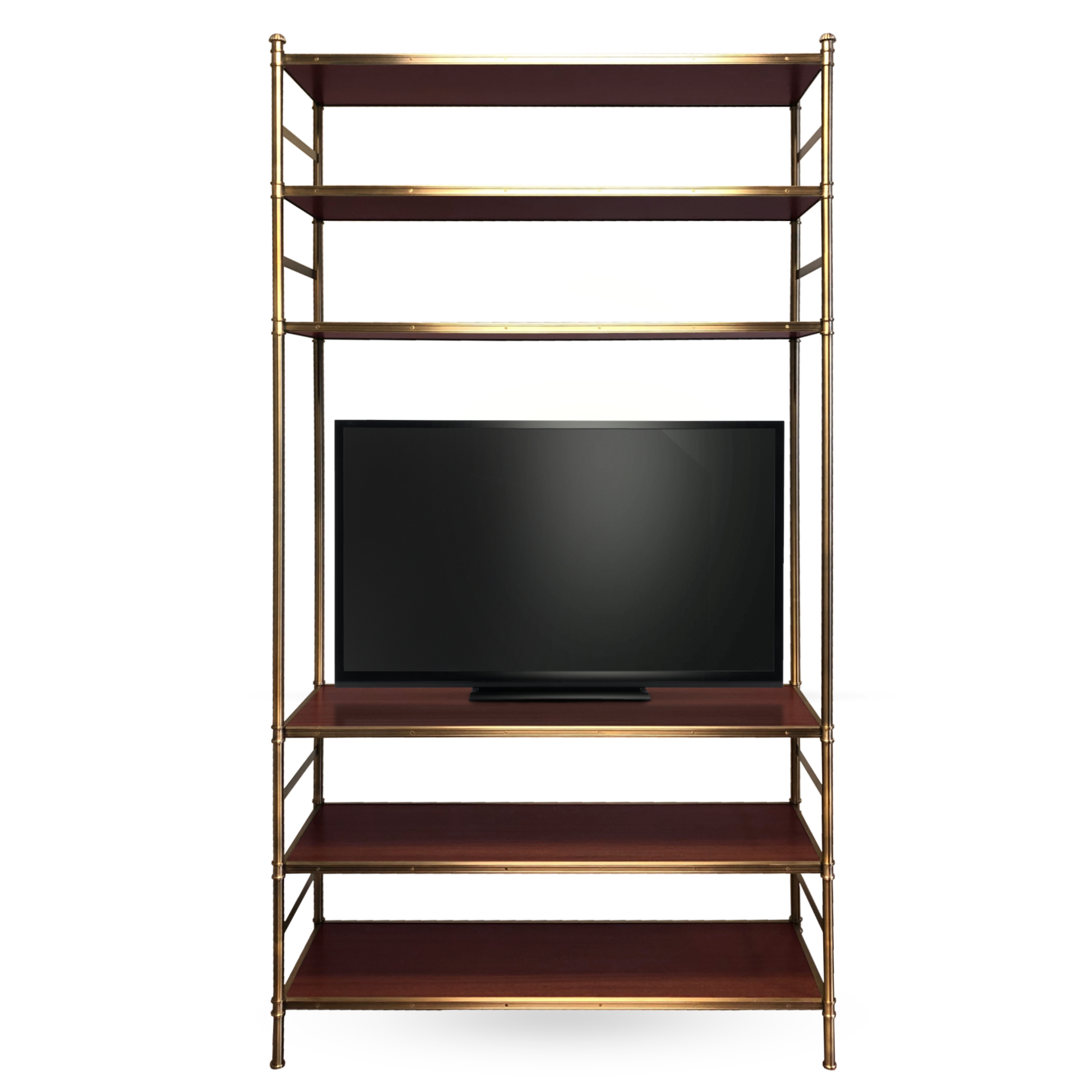 Custom Cole Porter Etagere TV stand by Victoria & Son