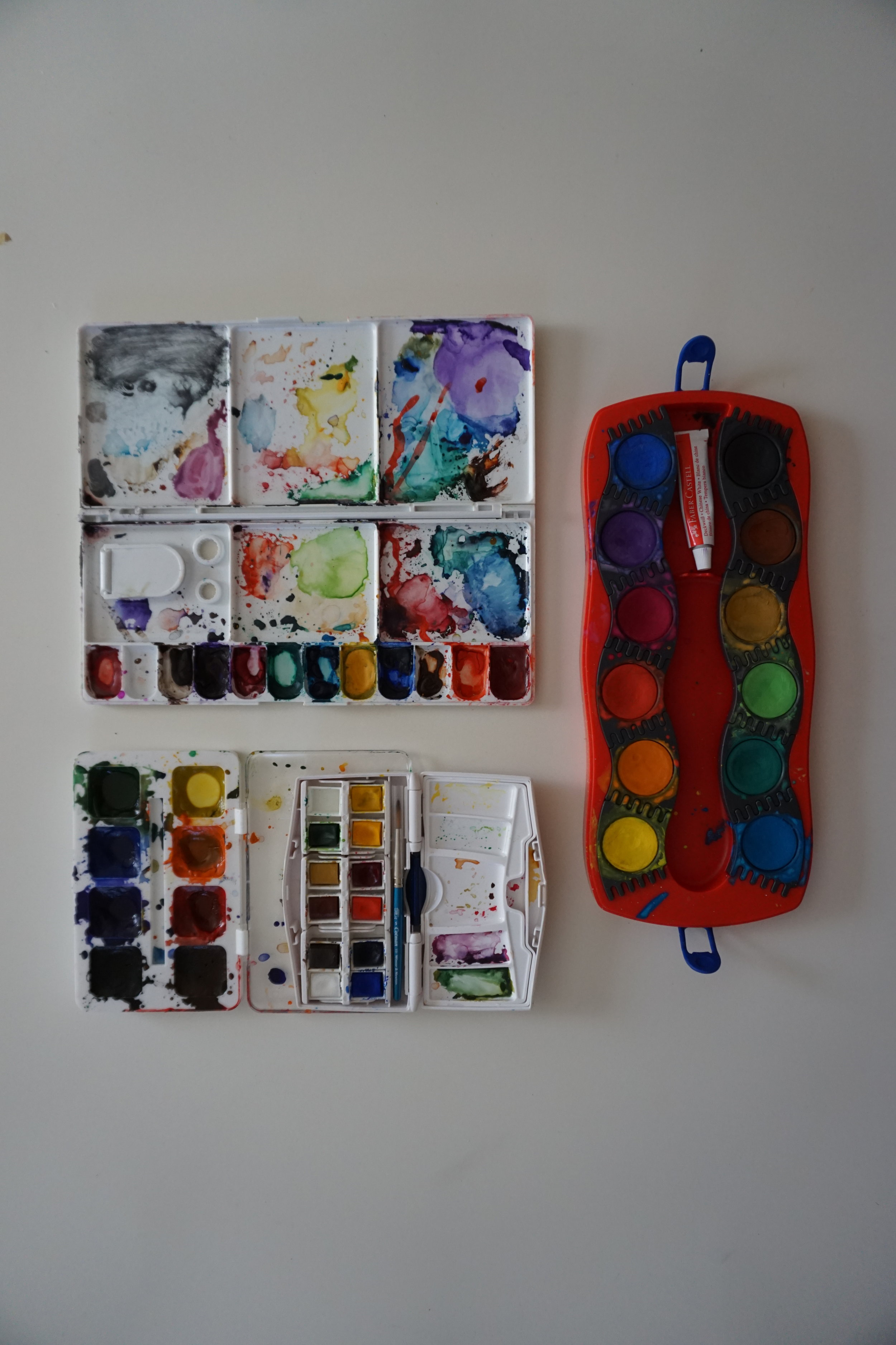 Watercolor Palettes Elementary Goods