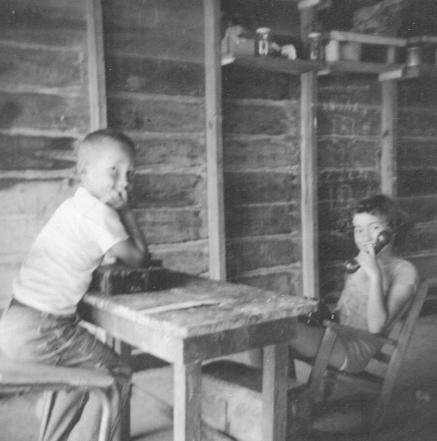 Helen in her first office. Circa 1953, Port Arthur, Texas.