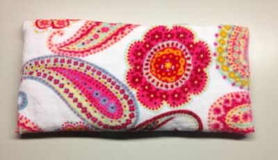 Cherry pit pillow for labor and breastfeeding comfort (warm or cool)