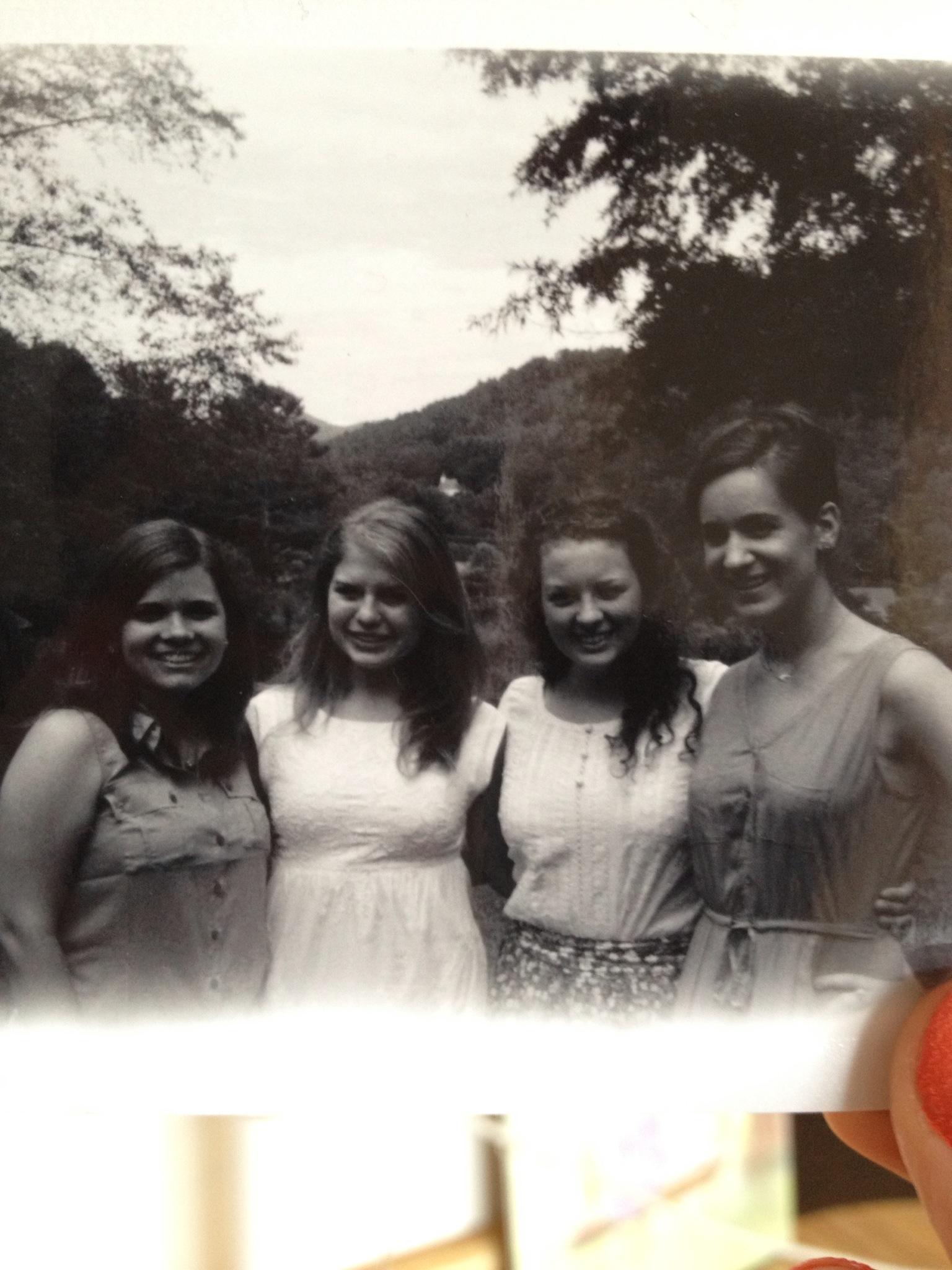 Reunited at Rachel's bridal shower :)