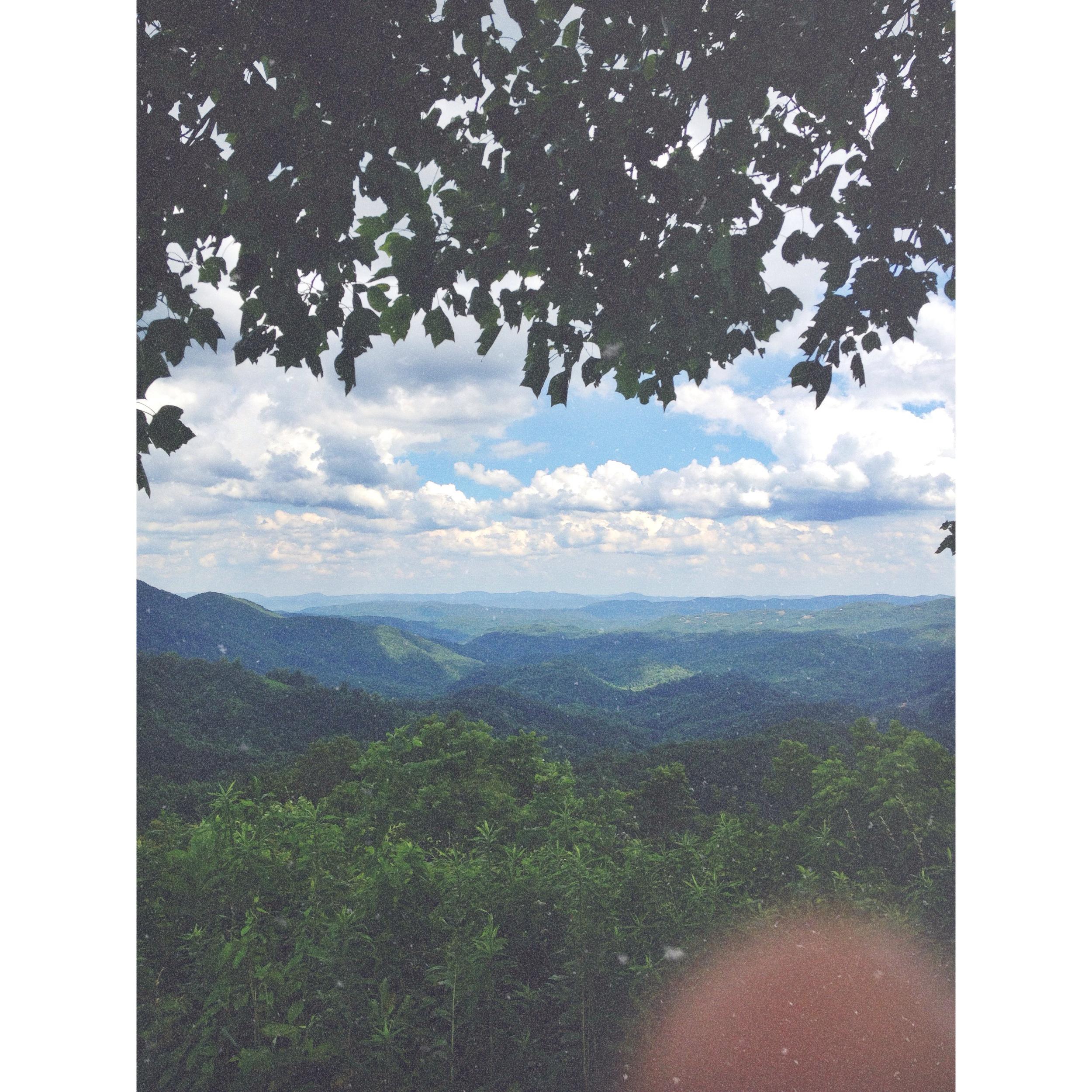 Blue Ridge Mountains, Summer 2013