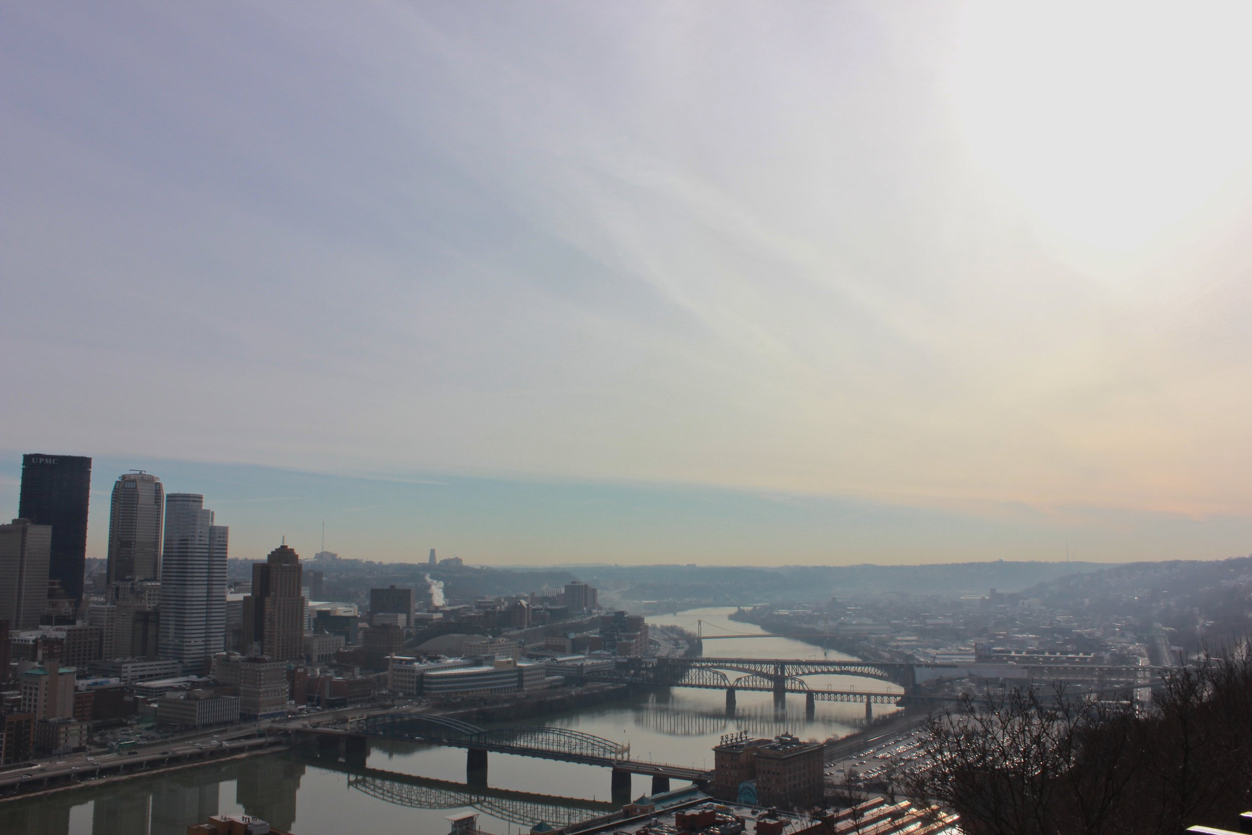 View of Pittsburgh from Mount Washington | March 2017