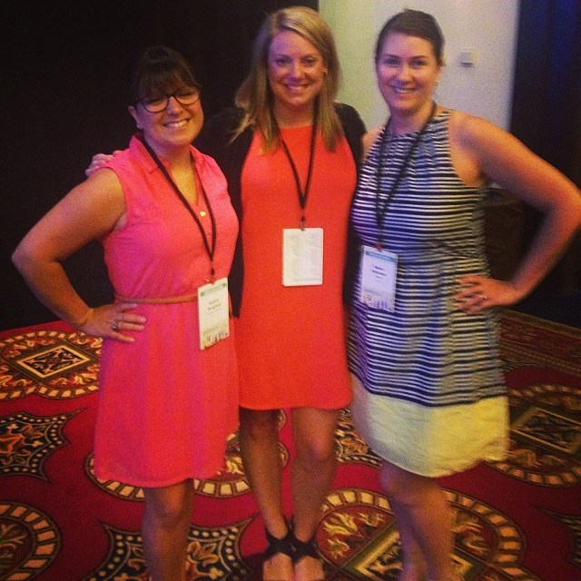 AAF Seattle board members (L-R)Audrey Berglund (ADDYs), Kirsten Martin (Sponsorship), and Renee Peterson (President)