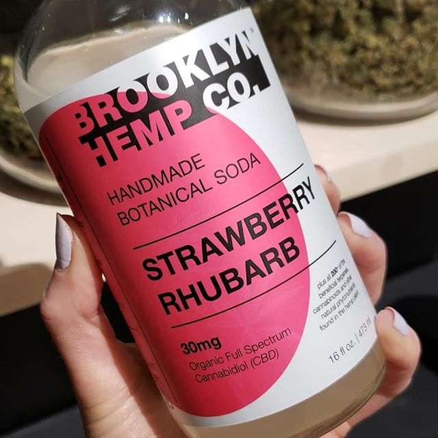 Relief & wellness never tasted so good .. @brooklynhemp now available at @endcbdsupply !! 💗🌱 ・・・ Your #brooklynhemp botanical soda starts as hemp on a small, family-run farm in Ithaca, NY. Our farmers grow without GMOs or chemicals (we're organic) and spray plants with herbs like nettles and chamomile (and biodynamic). Our botanical sodas have 30 (yes, 30!) mg of full spectrum water soluble CBD derived from this #womengrow hemp. 🌱 Delivered to you in an apothecary-style glass bottle that feels as good as its contents taste  #newyorkcbd #cbdbrooklyn #cbdnyc #sustainableluxury #vegandrinks #womenownedbusiness #madeinnyc #cbddrinks #brooklynvegan #endcbdsupply #cbdrochester #rochesterNY #cannabiscommunity #cannabisculture #empoweringwomen #livebetter