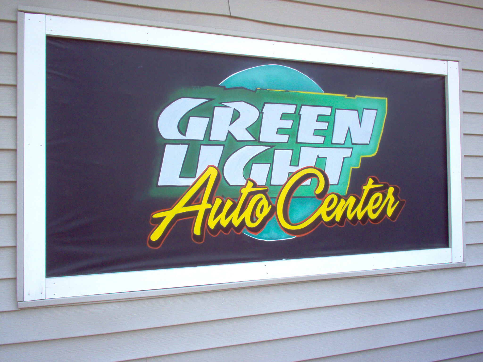 Green Light Auto Center...used sales and repairs outside of Keen, NH.