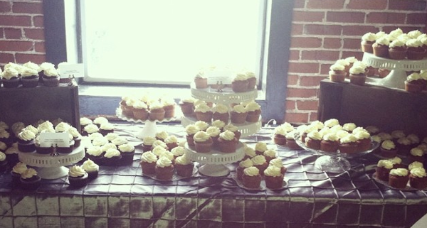 The cupcakes. From Connie. And her magical cake-baking ways. Photo courtesy of Connie's Cakes Instagram.
