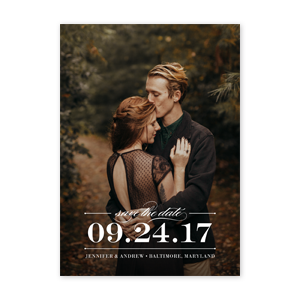 Sophisticate Save the Date