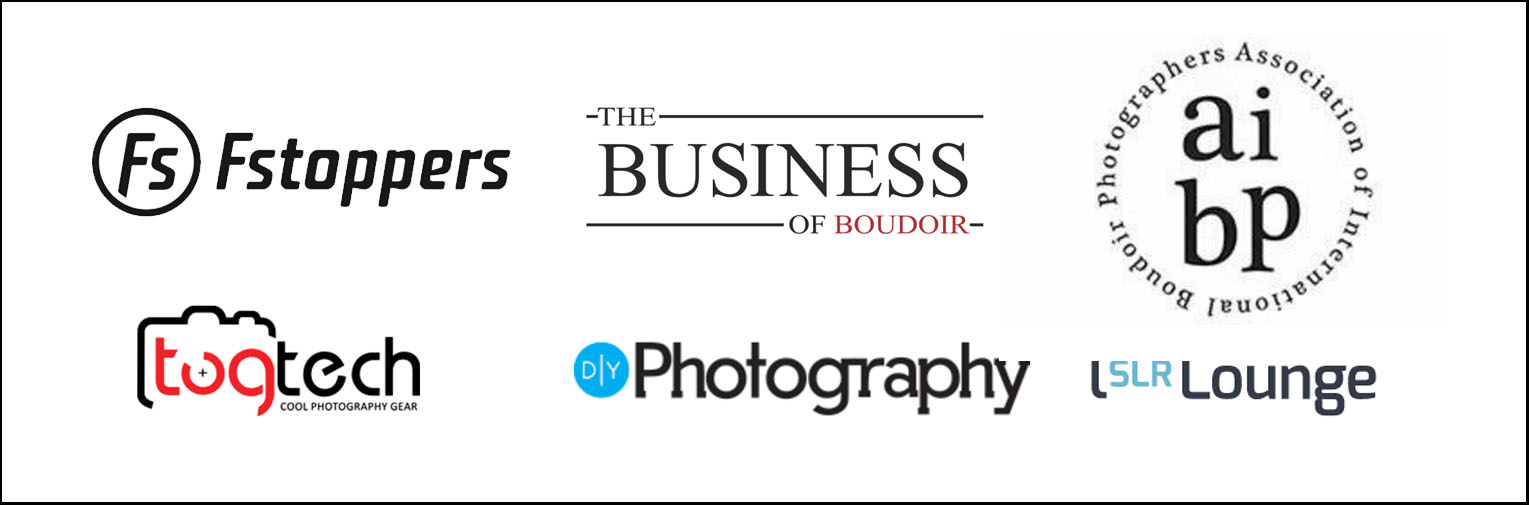 featured on many boudoir photography websites