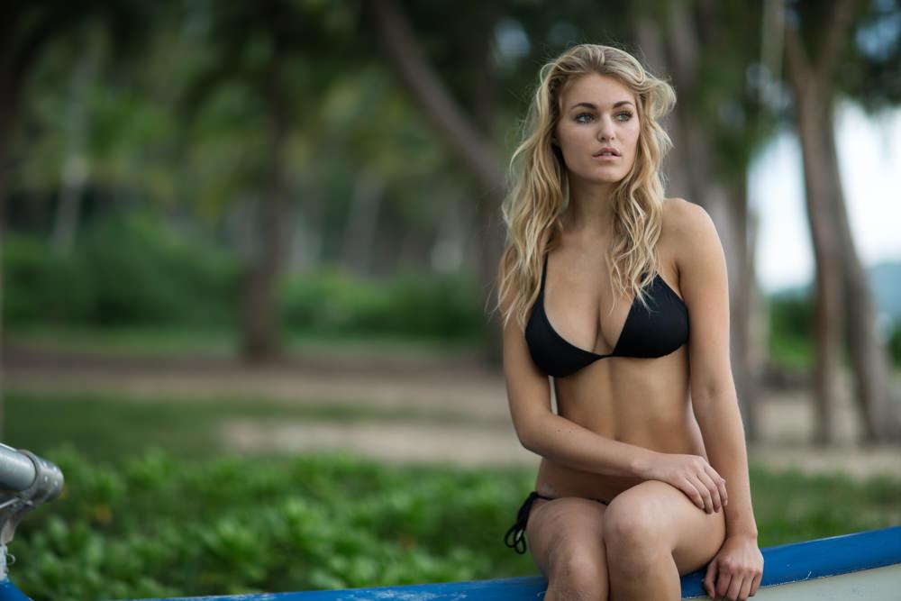 bikini boudoir on a boat in hawaii boudoir photo shoot