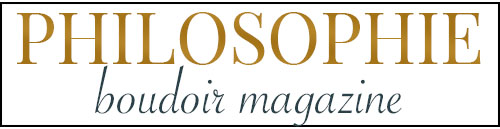 Sasser Boudoir has been featured in a nationally recognized and read boudoir magazine, Philosophie