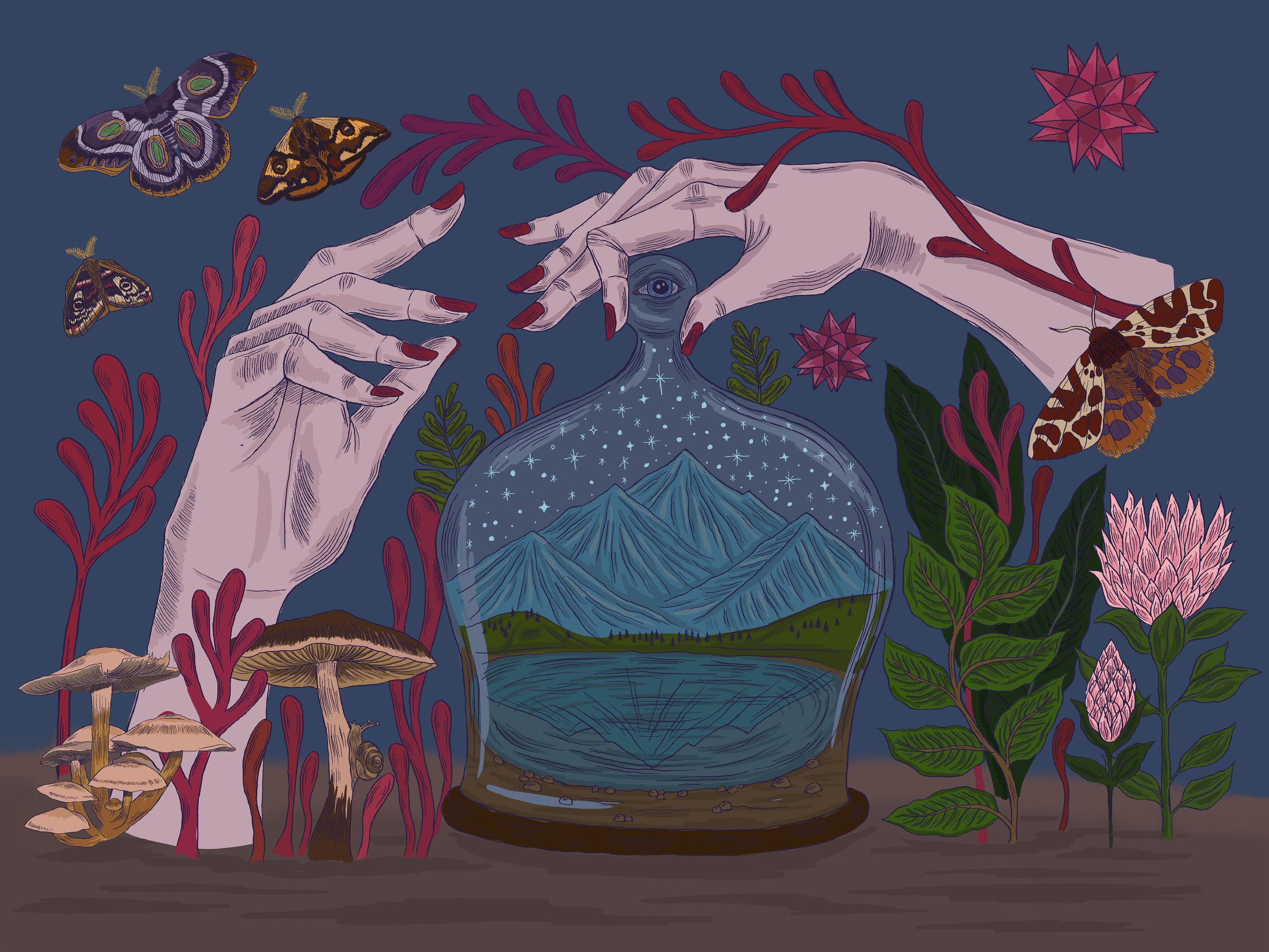 Terrarium Hands