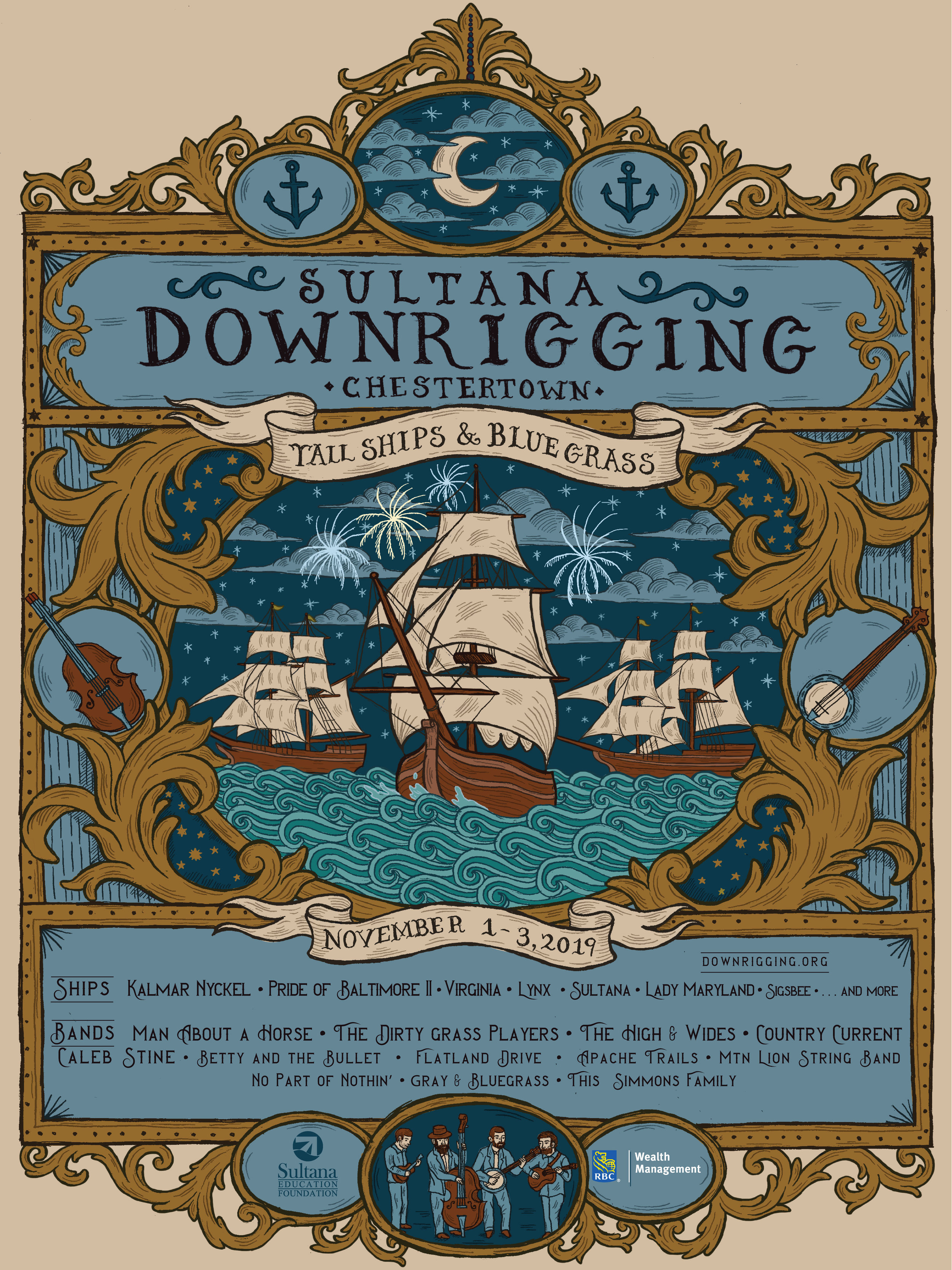 Sultana Downrigging Poster