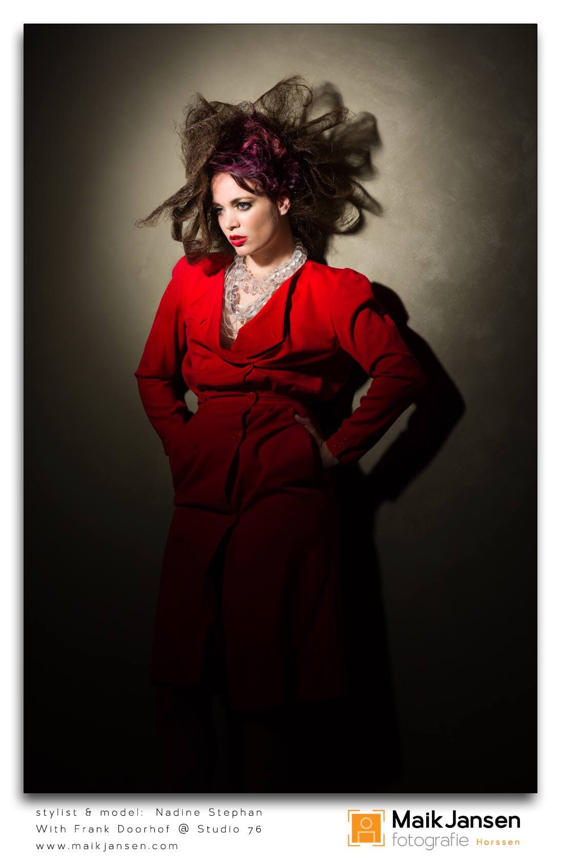 Fashion Model & Stylist Nadine Stephan.
