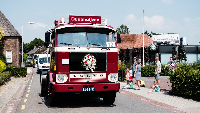 Oldtimer vrachtwagen